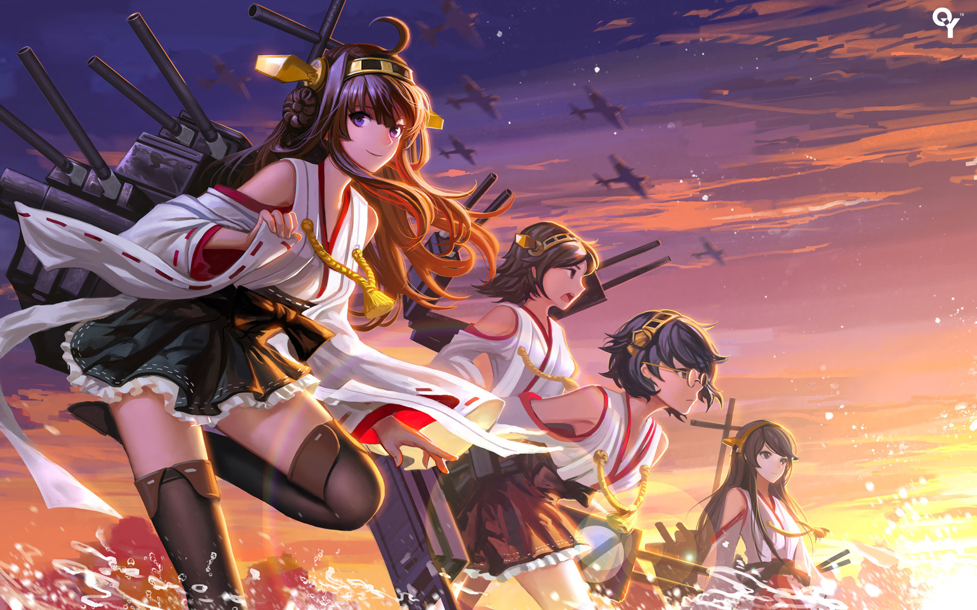 Free Kongou (Kancolle) high quality background ID:330968 for hd 1920x1200 desktop