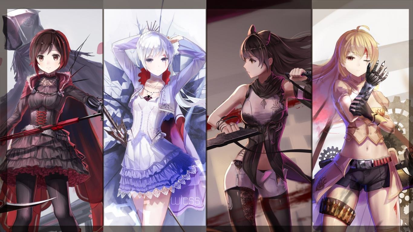 Download laptop RWBY PC wallpaper ID:437745 for free