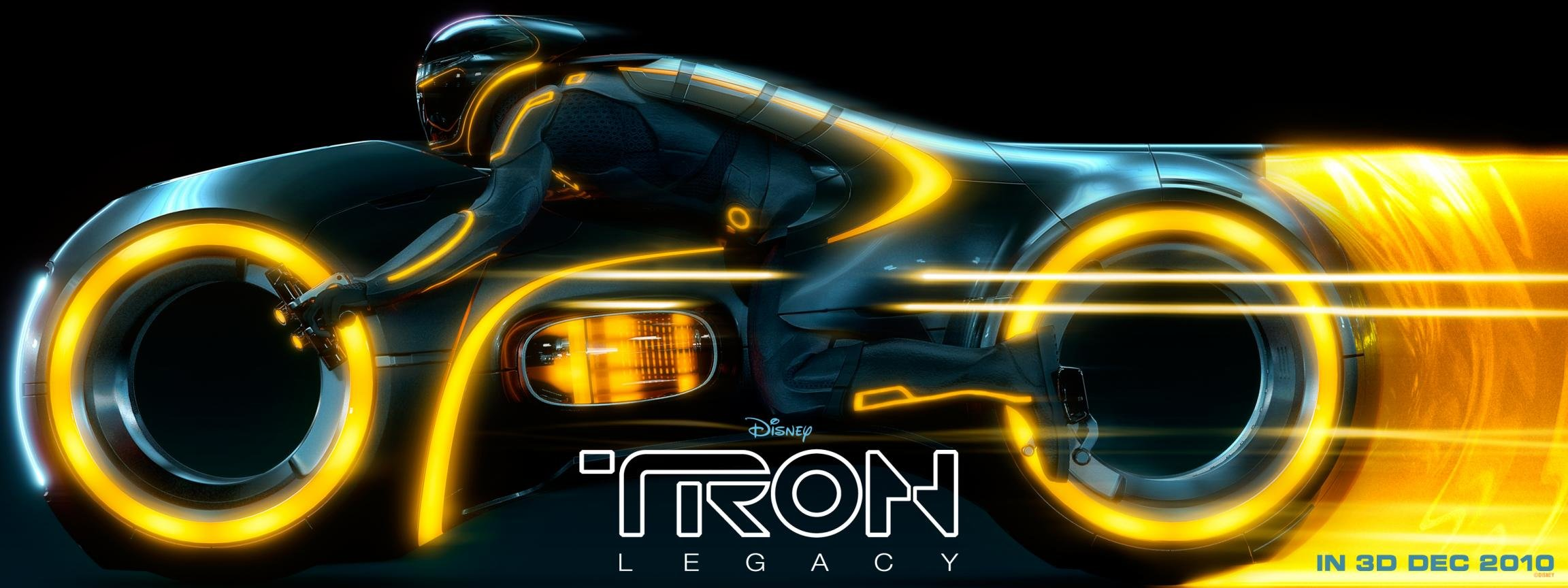 High resolution TRON: Legacy dual monitor 2304x864 background ID:379617 for PC