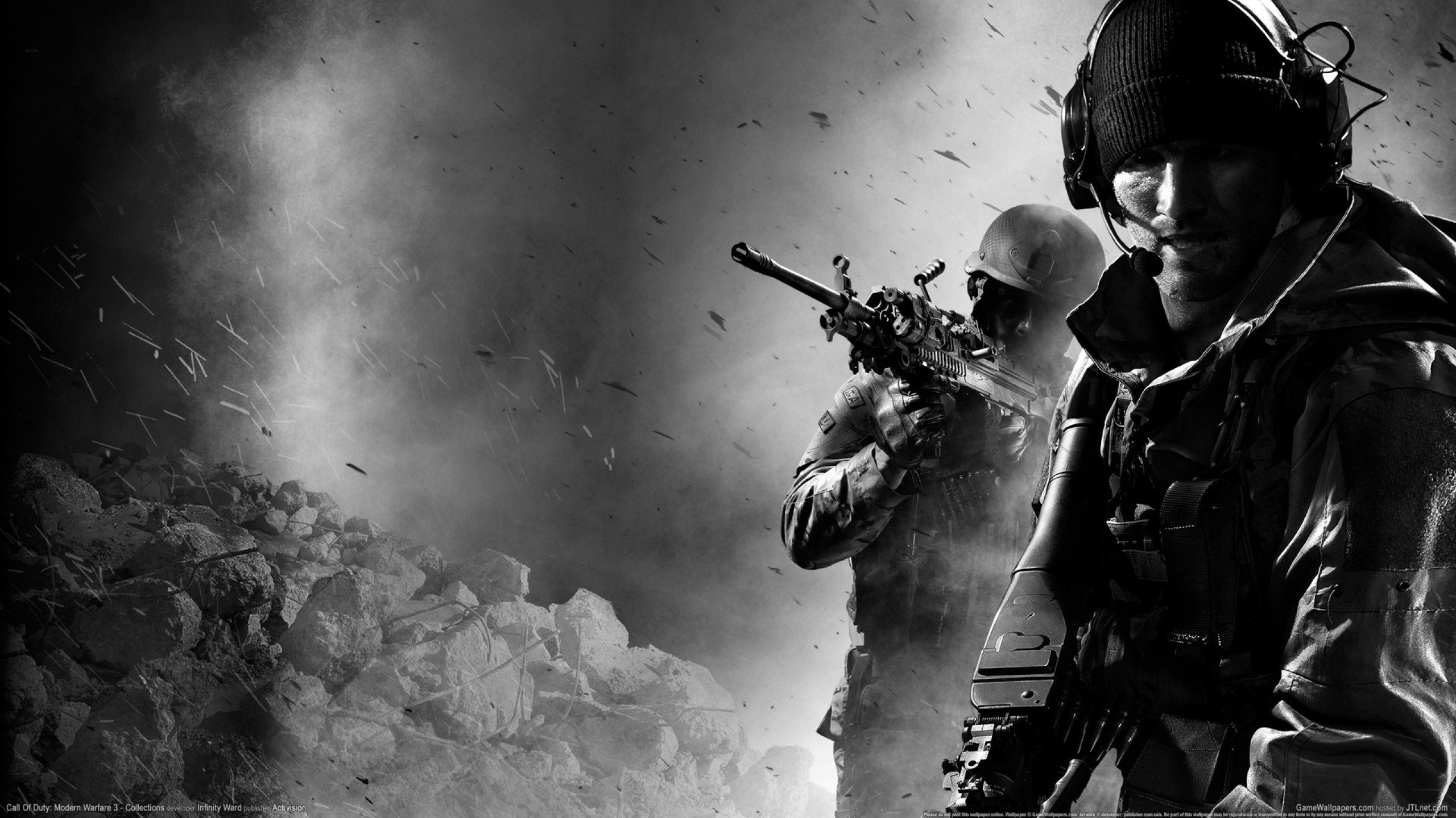 Call Of Duty Modern Warfare 3 Mw3 Wallpapers 2560x1440 Desktop
