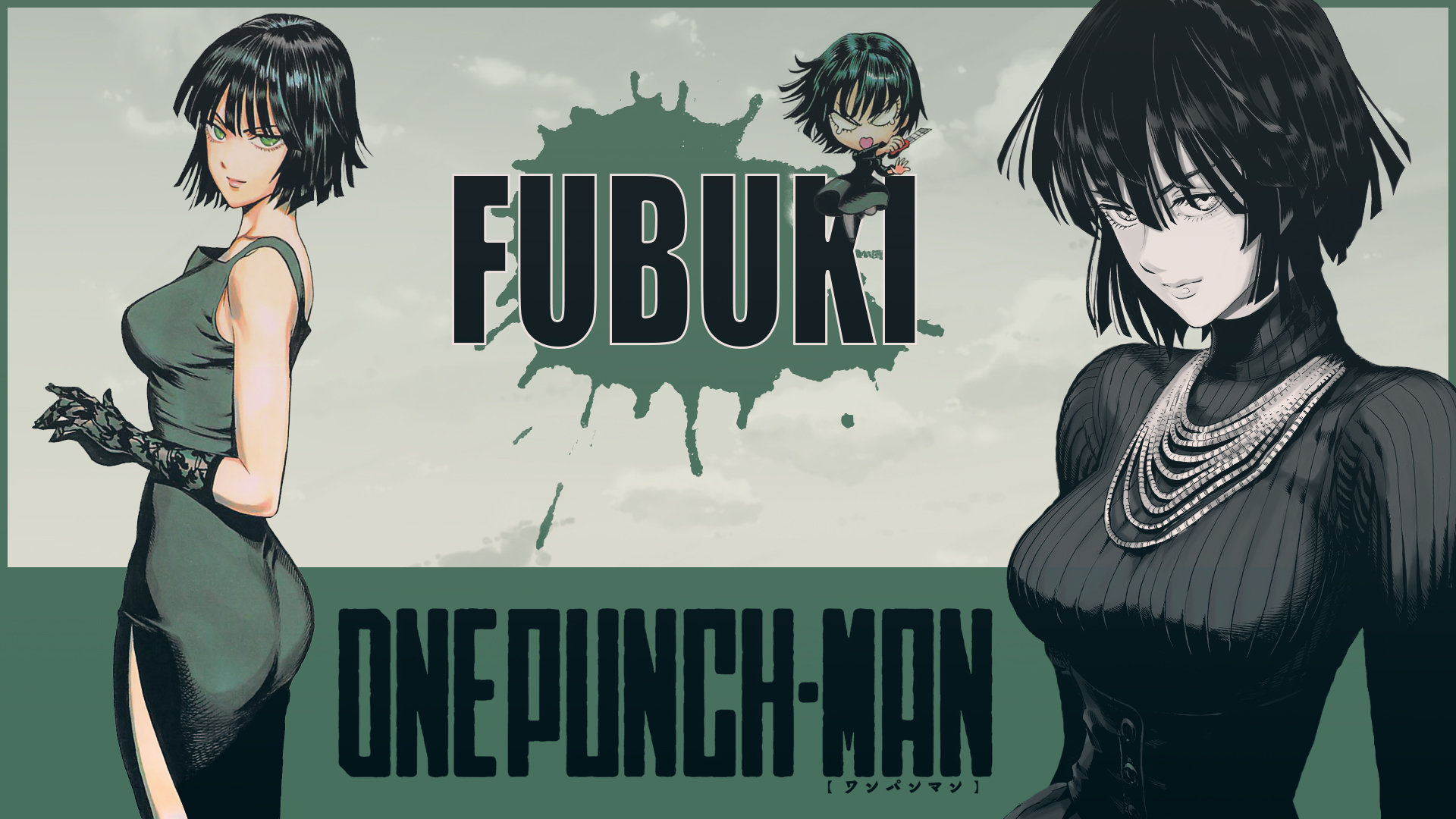 Free Fubuki (One-Punch Man) high quality background ID:345339 for full hd desktop
