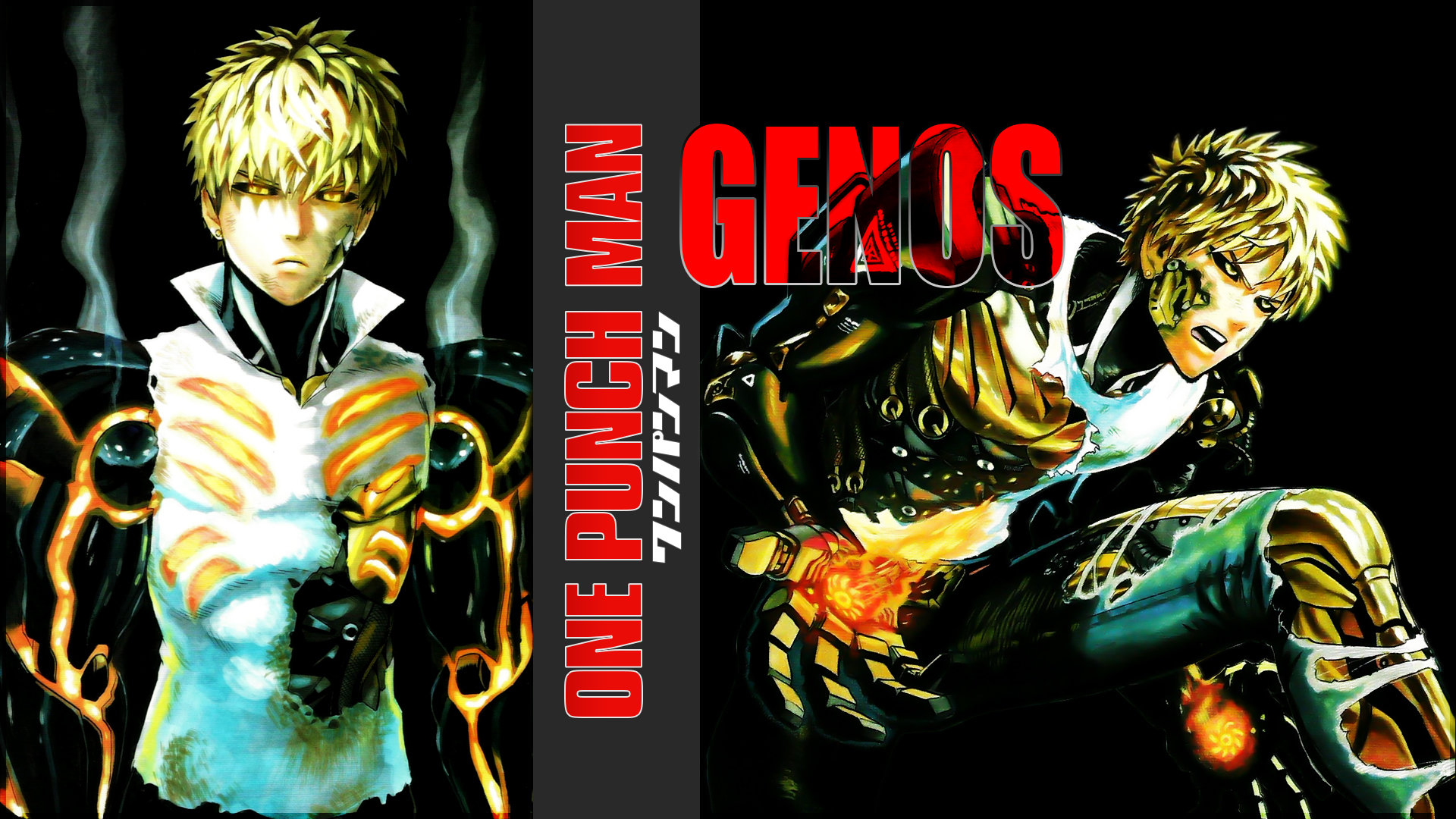 Free Genos (One-Punch Man) high quality wallpaper ID:345257 for full hd 1920x1080 computer