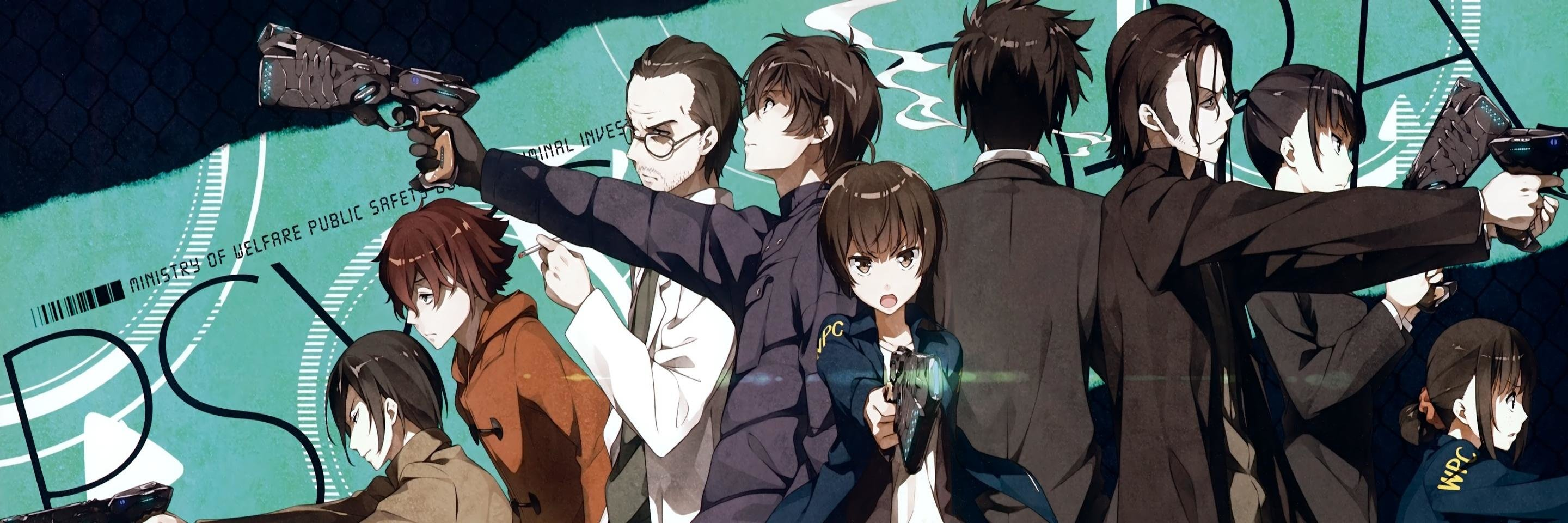 Awesome Psycho-Pass free background ID:451803 for dual screen 2880x960 PC