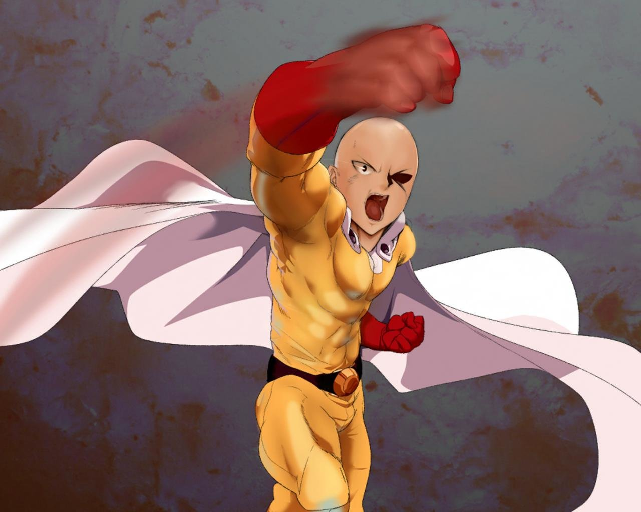 Best Saitama (One-Punch Man) background ID:345371 for High Resolution hd 1280x1024 desktop