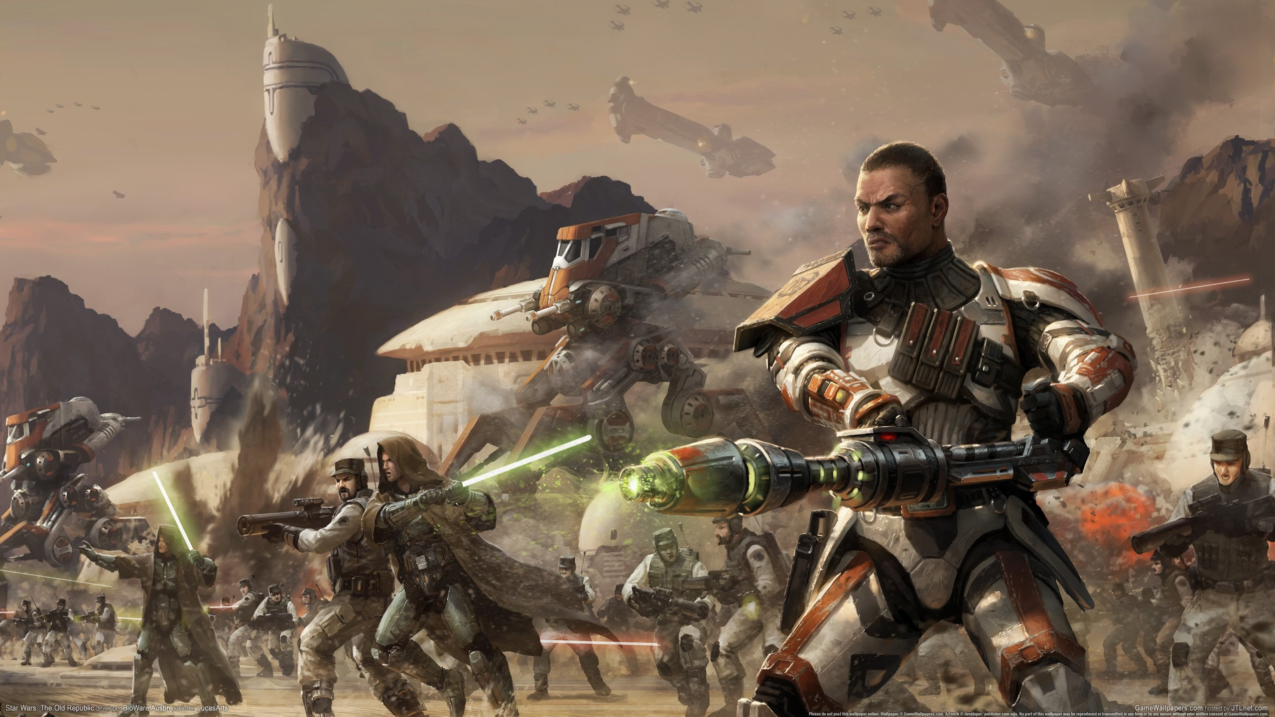 Star Wars The Old Republic Wallpapers 2560x1440 Desktop Backgrounds