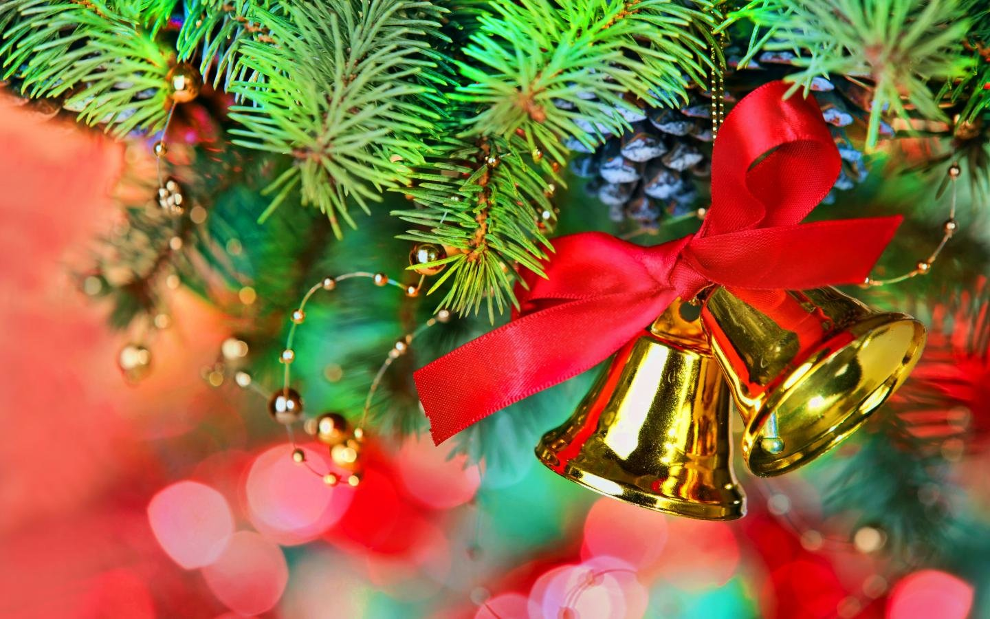 best christmas ornamentsdecorations background id436216 for high resolution hd 1440x900 pc