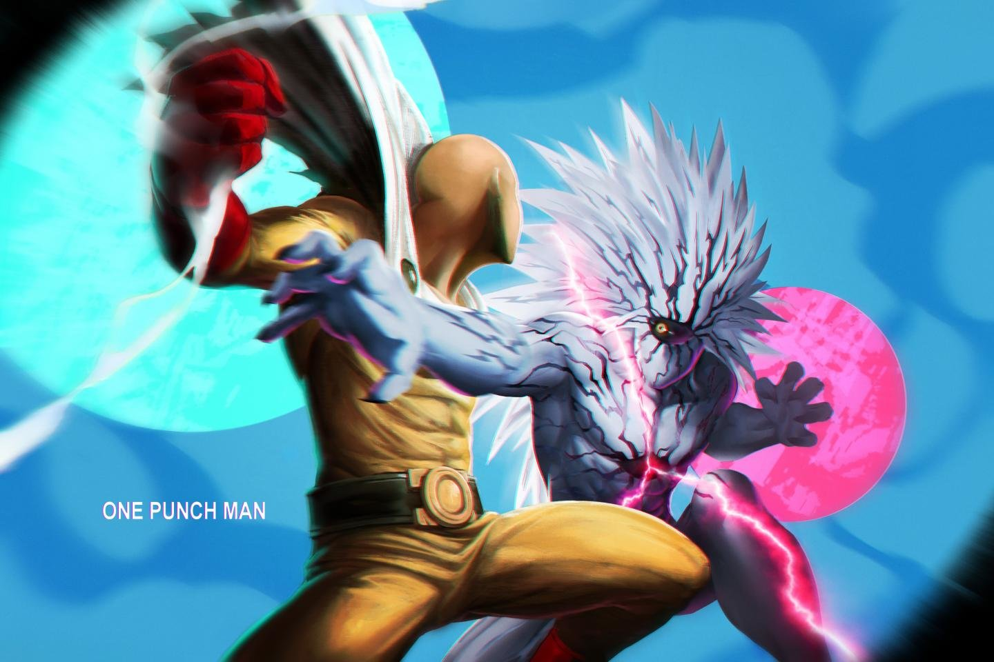 Best One-Punch Man background ID:345226 for High Resolution hd 1440x960 PC