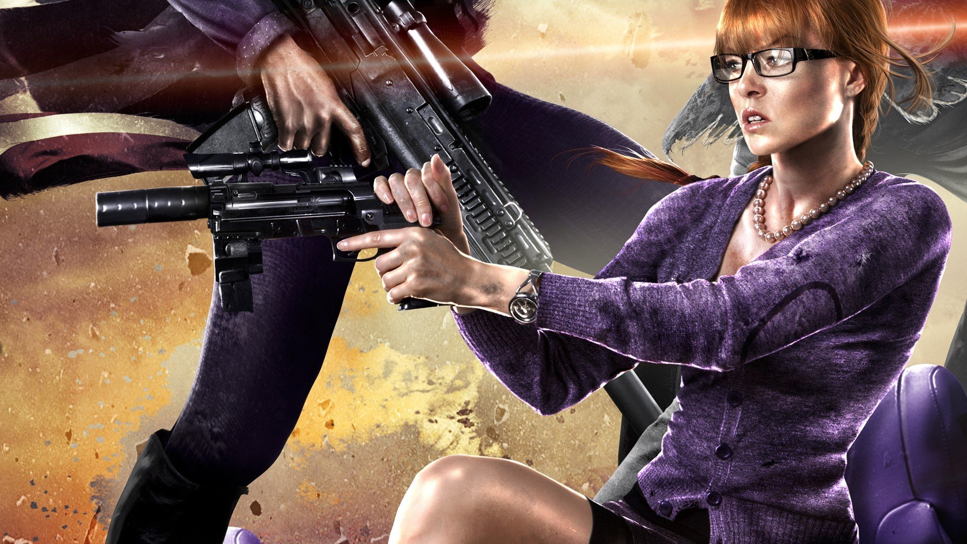 High Resolution Saints Row 4 Iv Hd 1920x1080 Wallpaper Id