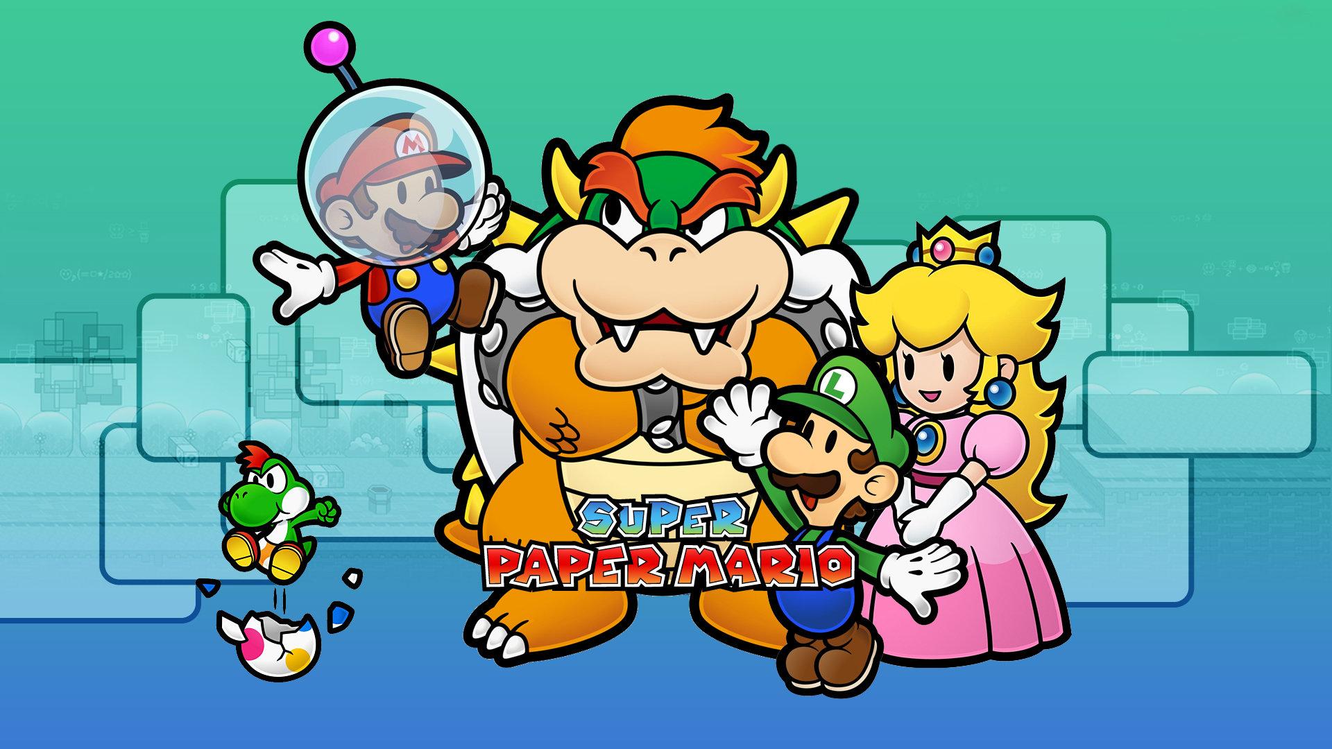 Super Paper Mario Wallpapers 1920x1080 Full Hd 1080p Desktop