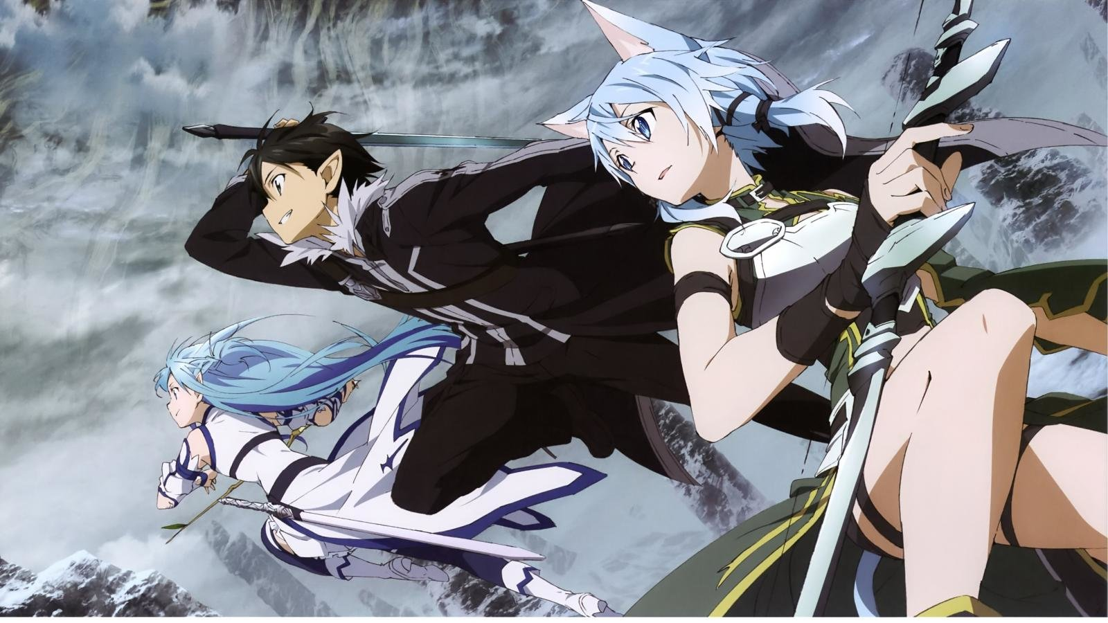 Download hd 1600x900 Sword Art Online 2 (II) PC background ID:112305 for free