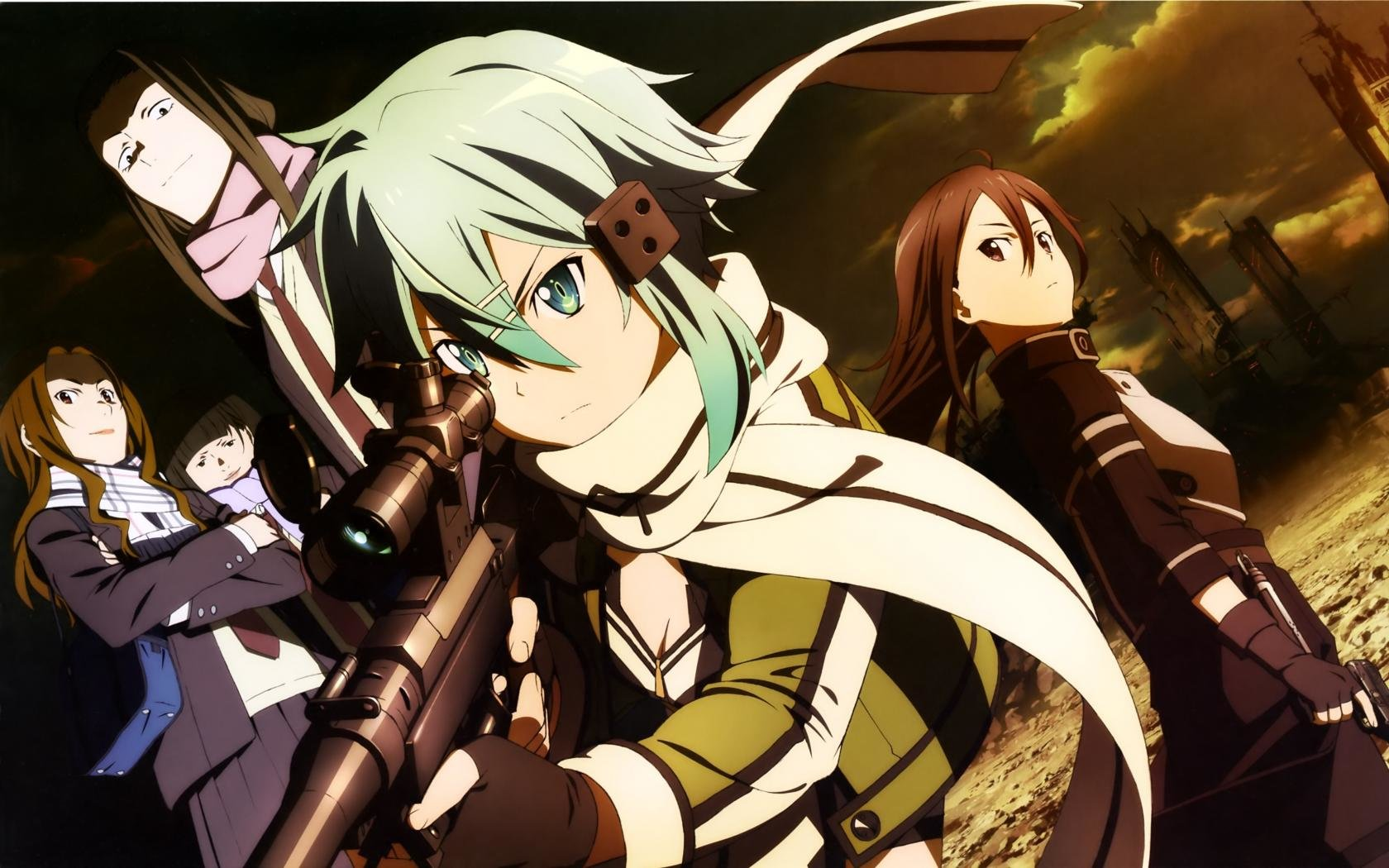 Awesome Sword Art Online 2 (II) free background ID:112409 for hd 1680x1050 desktop