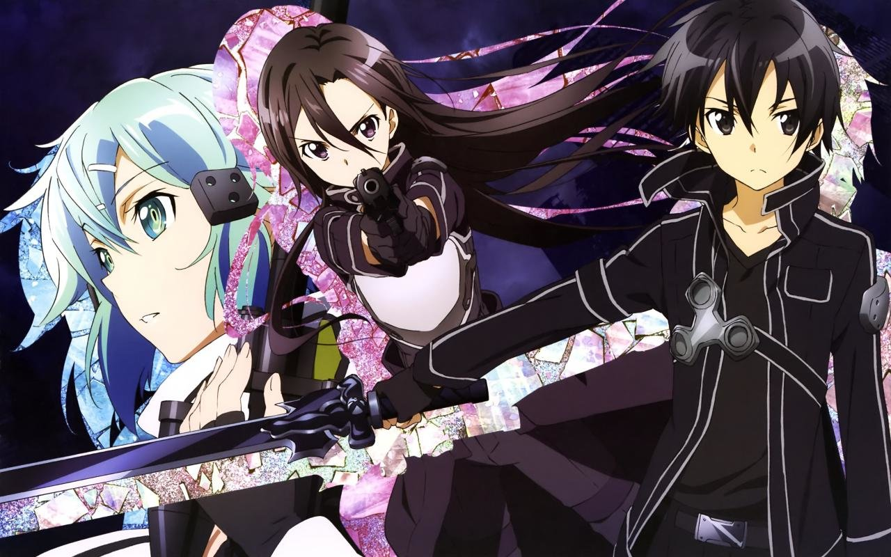 Awesome Sword Art Online 2 (II) free wallpaper ID:112382 for hd 1280x800 computer
