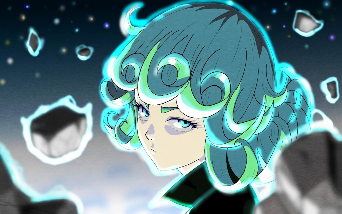 High resolution Tatsumaki (One-Punch Man) hd 1440x900 background ID:345409 for PC