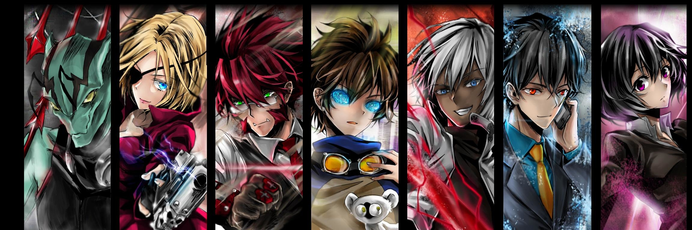 Download dual monitor 2304x768 Blood Blockade Battlefront desktop background ID:342449 for free