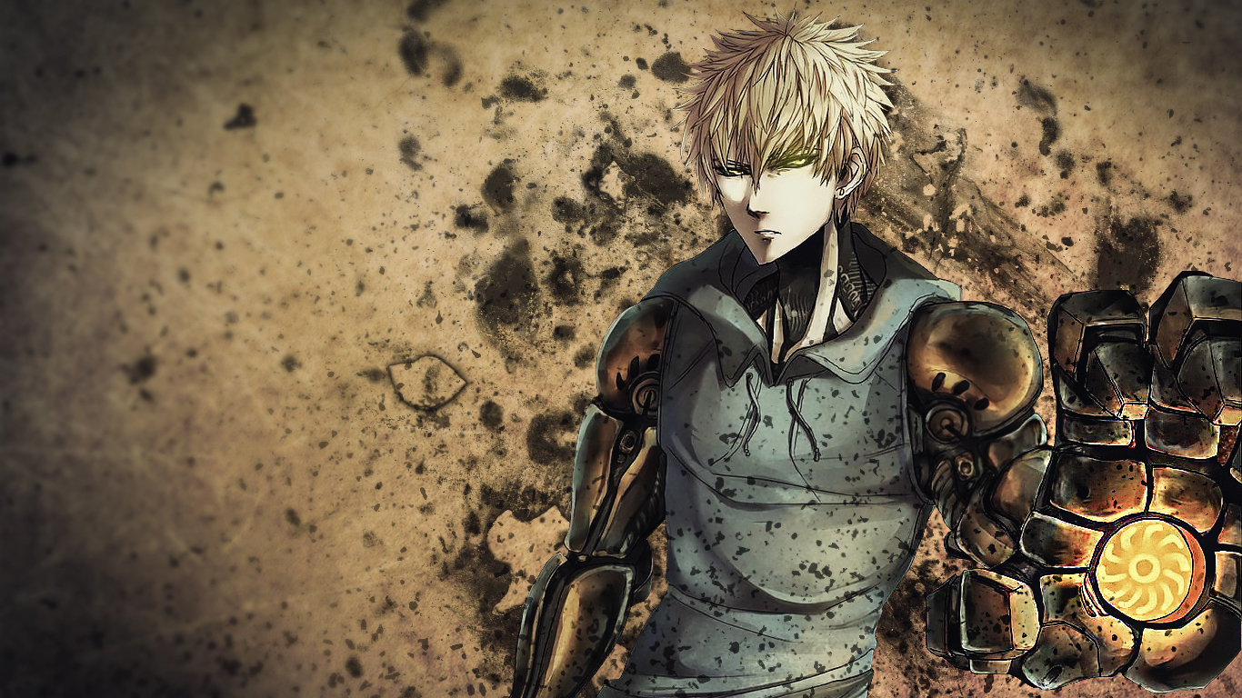 Free download Genos (One-Punch Man) background ID:345272 laptop for PC