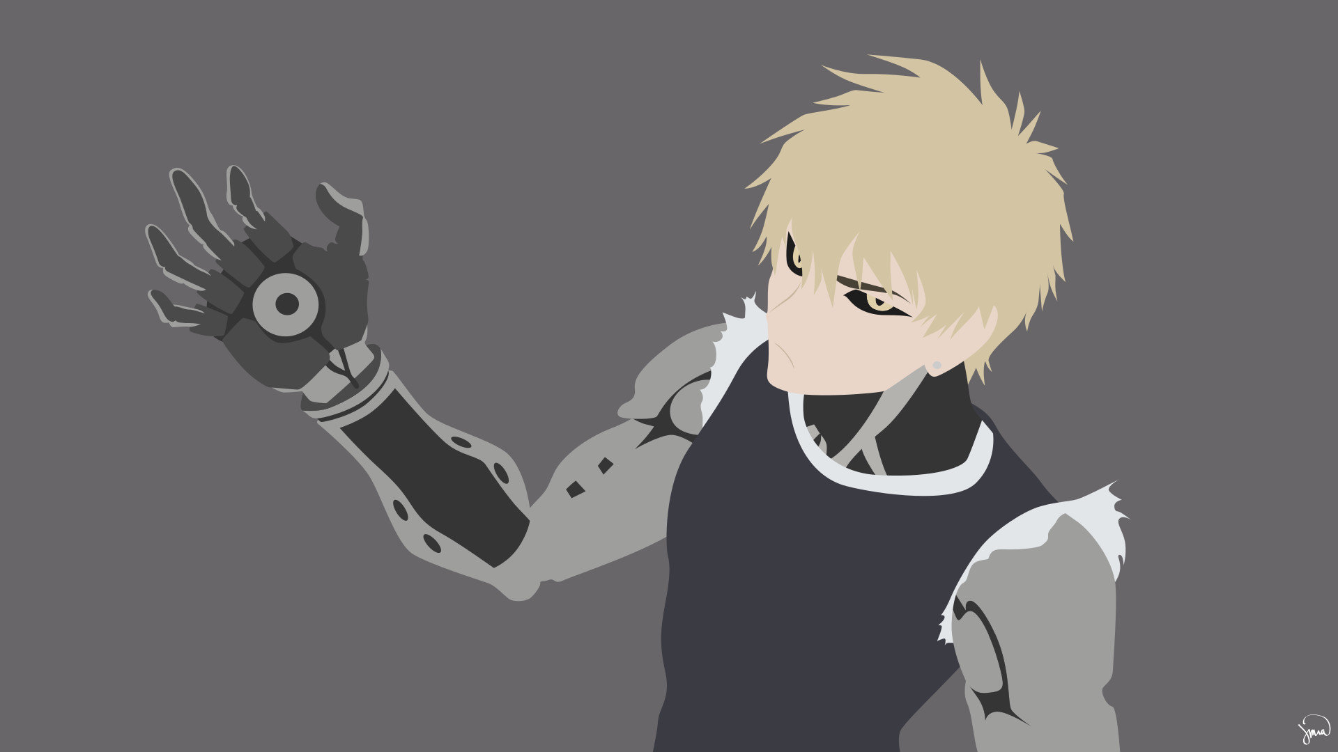 Free Genos (One-Punch Man) high quality background ID:345466 for full hd desktop