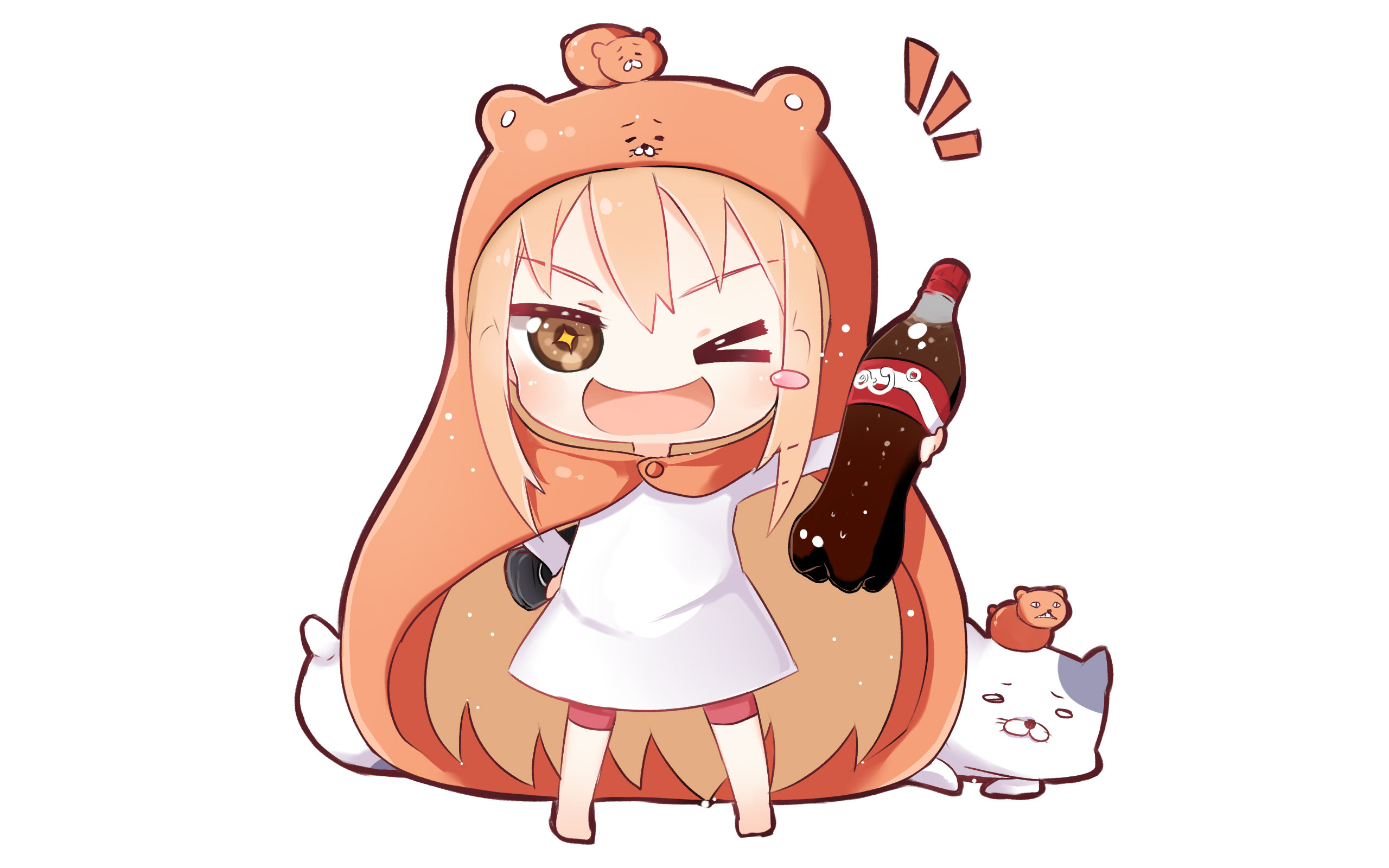 Free Himouto! Umaru-chan high quality background ID:242367 for hd 2560x1600 PC