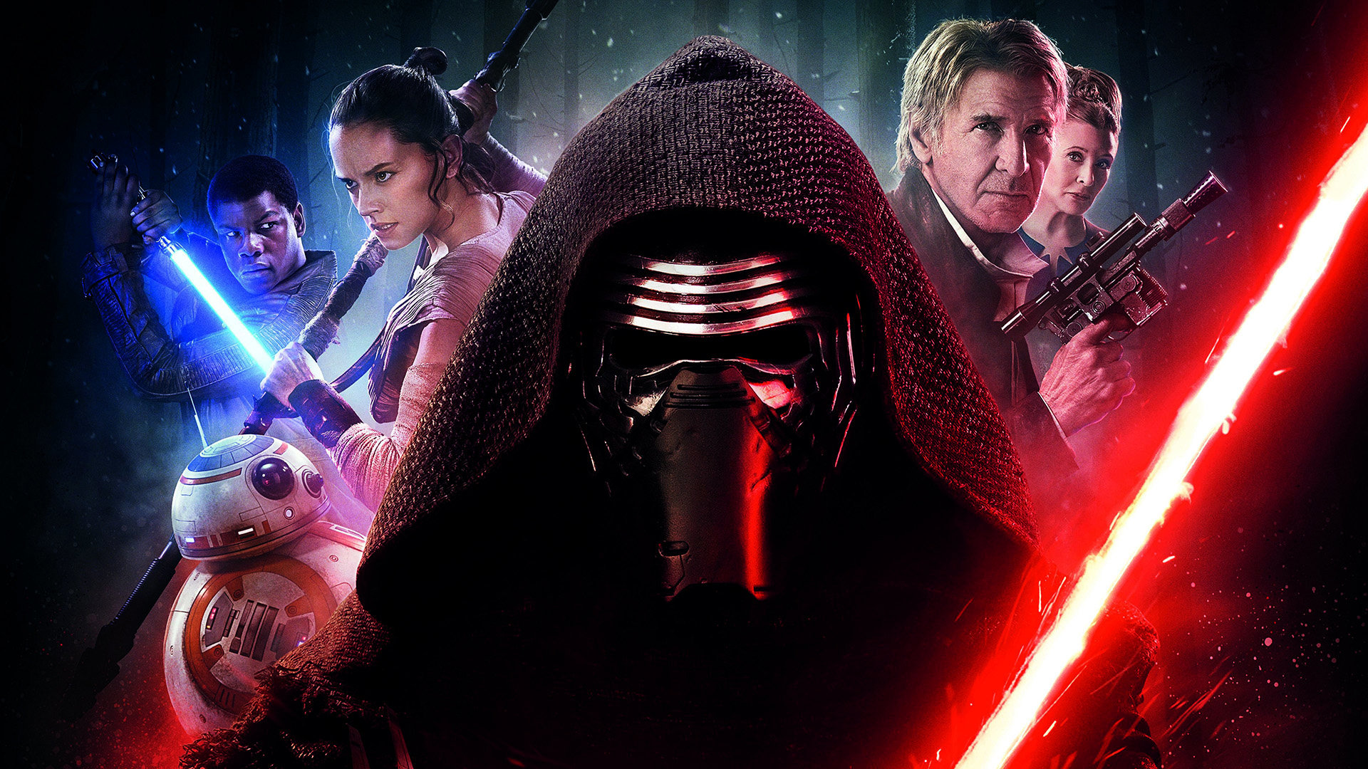 Awesome Star Wars Episode 7 Vii The Force Awakens Free