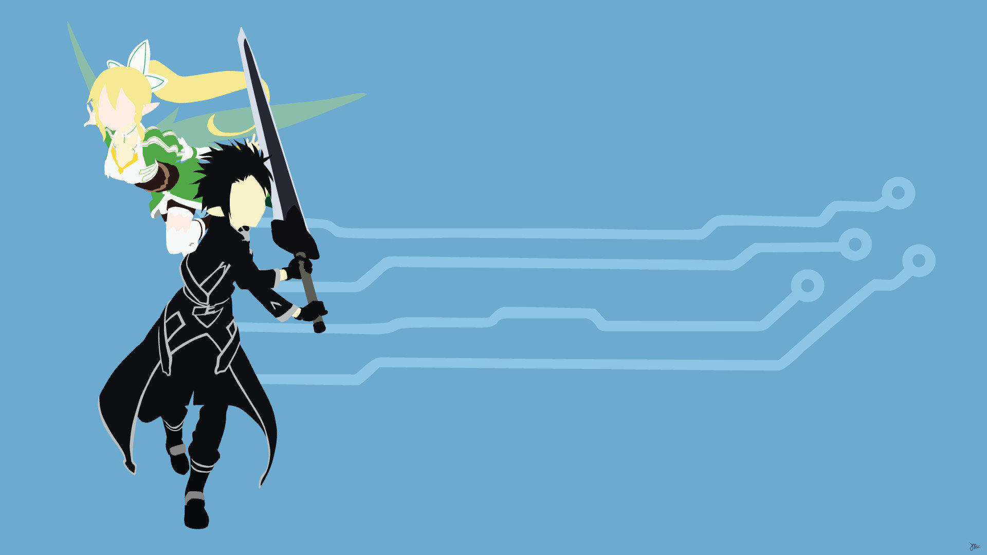 Awesome Sword Art Online (SAO) free wallpaper ID:181447 for hd 1920x1080 desktop