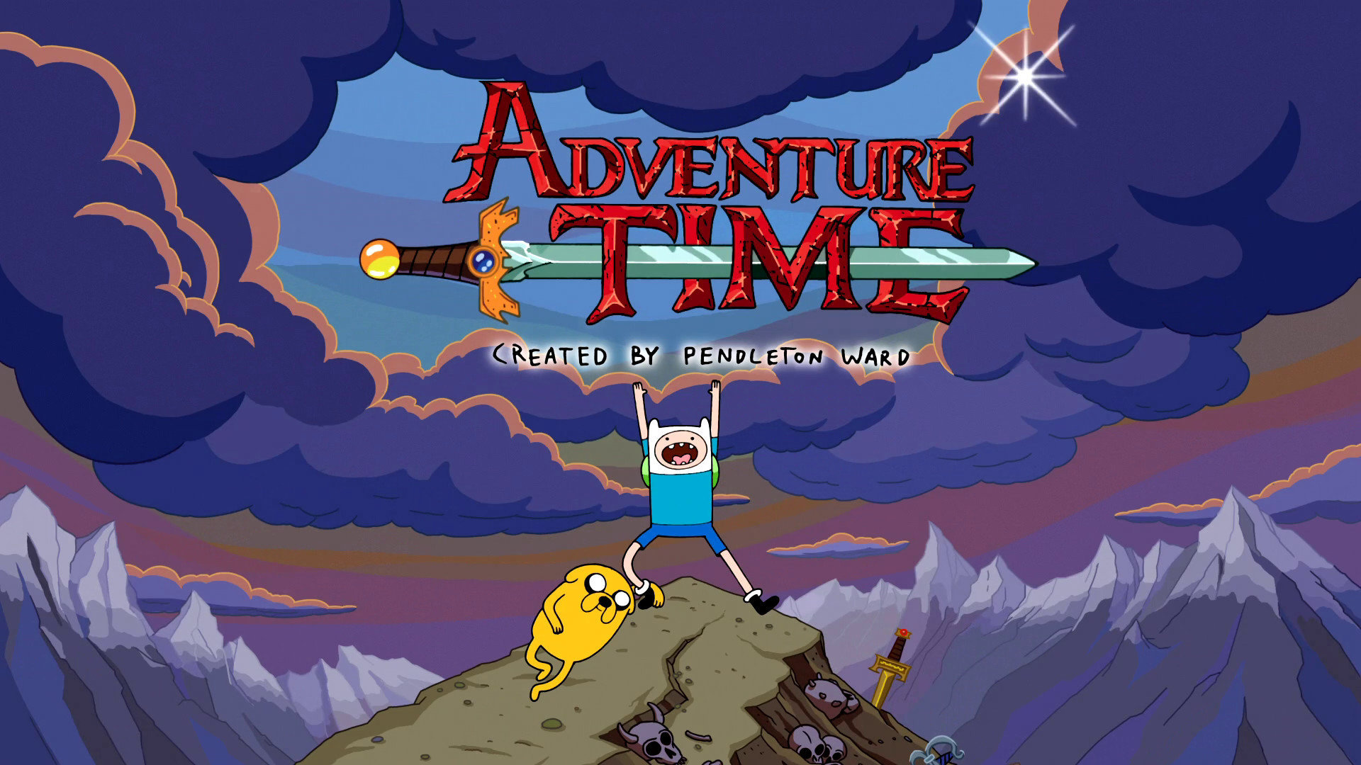 High Resolution Adventure Time Hd 1080p Wallpaper Id 333545 For Pc