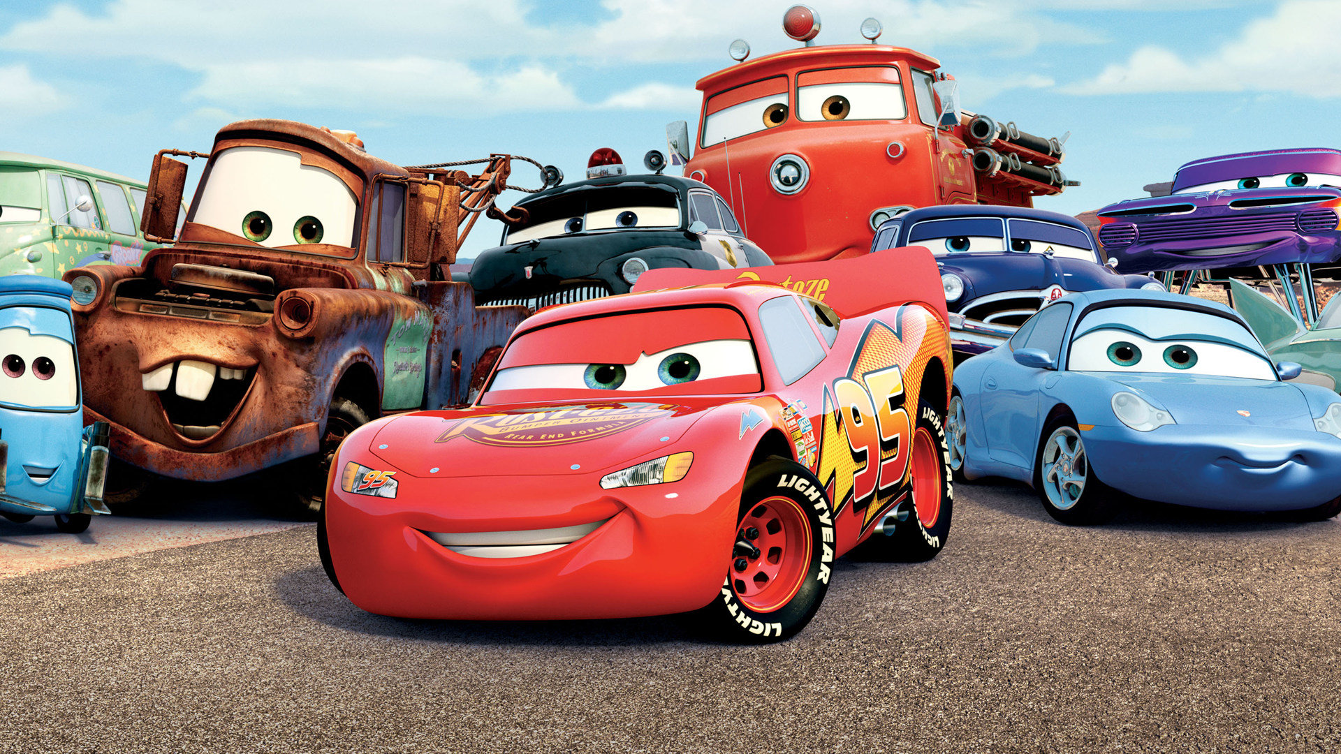 Cars Full Movie Free >> Cars Movie Wallpapers 1920x1080 Full Hd 1080p Desktop