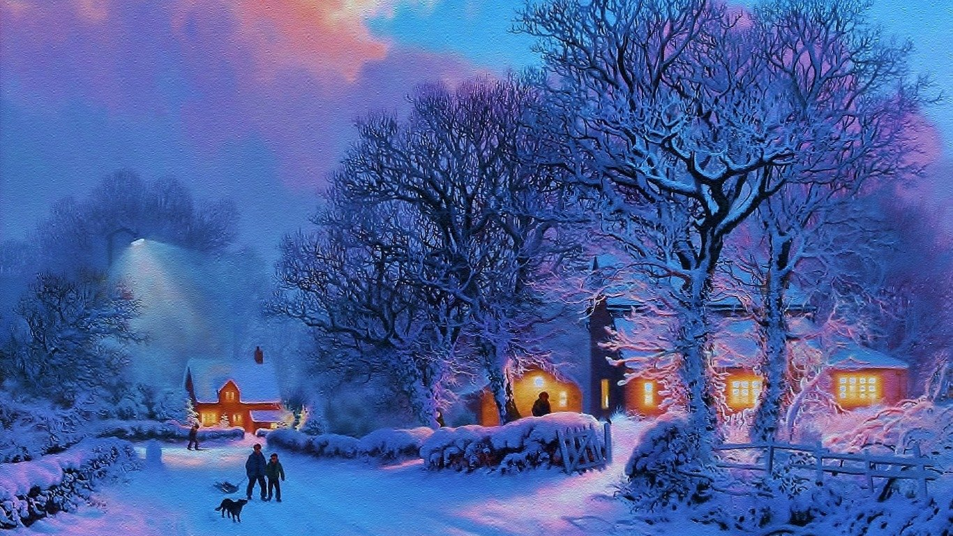 Winter Wallpapers 1366x768 (laptop) Desktop Backgrounds