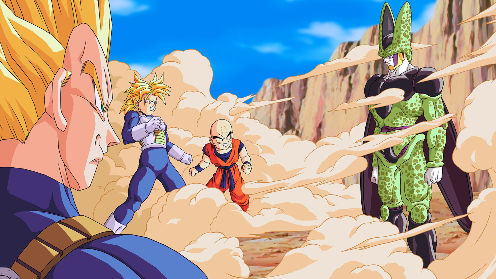 Free Dragon Ball Z (DBZ) high quality background ID:462331 for full hd 1920x1080 desktop