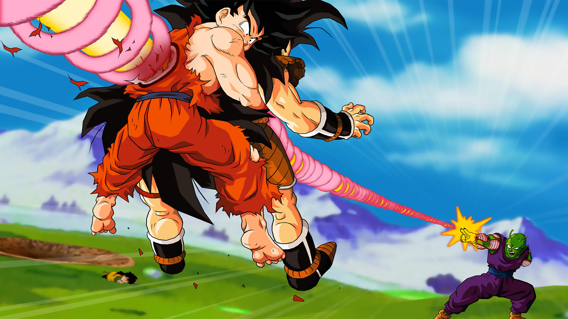 Free Dragon Ball Z (DBZ) high quality background ID:462246 for full hd PC