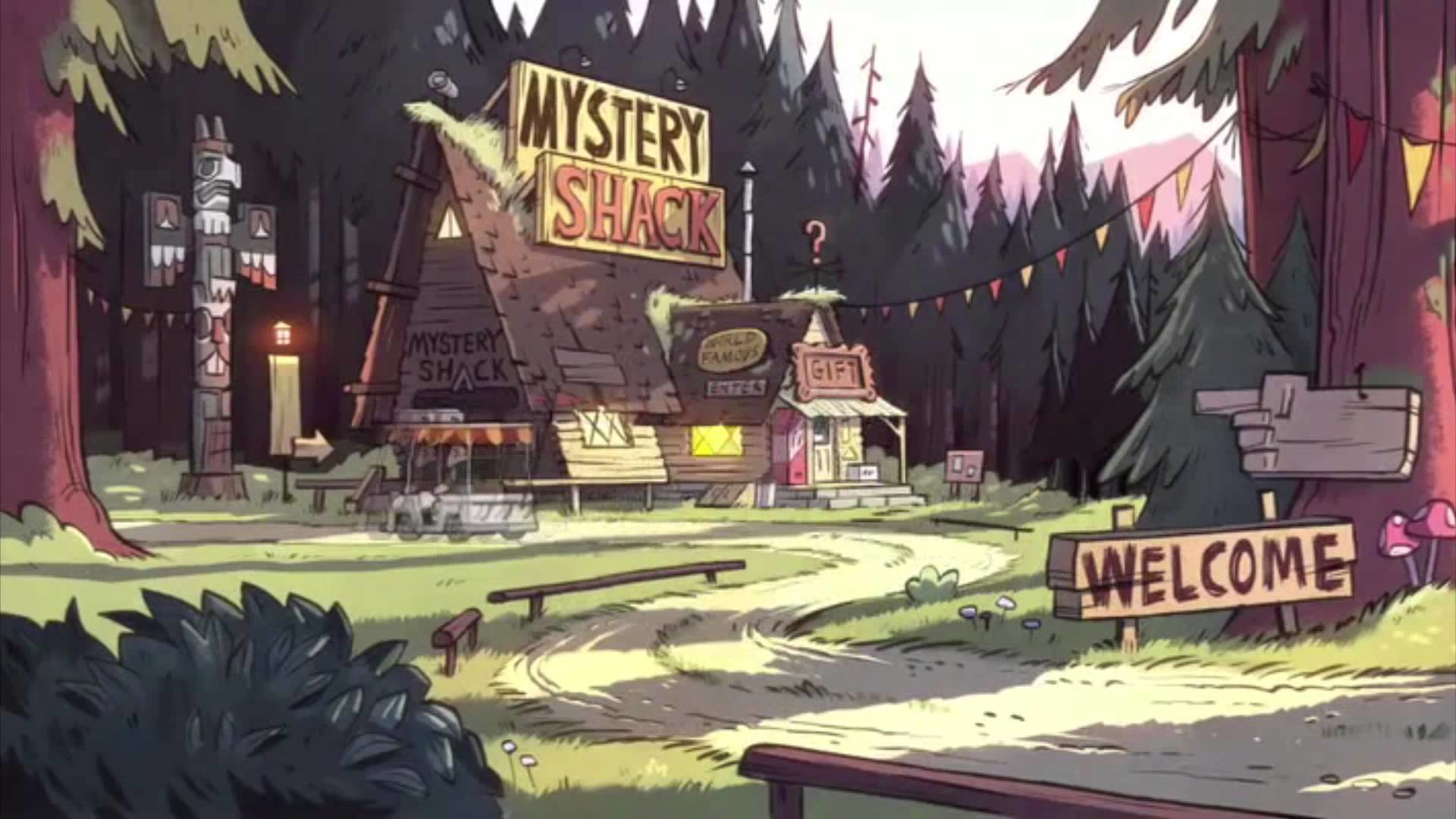 Free Download Gravity Falls Wallpaper Id 301721 Full Hd 1920x1080