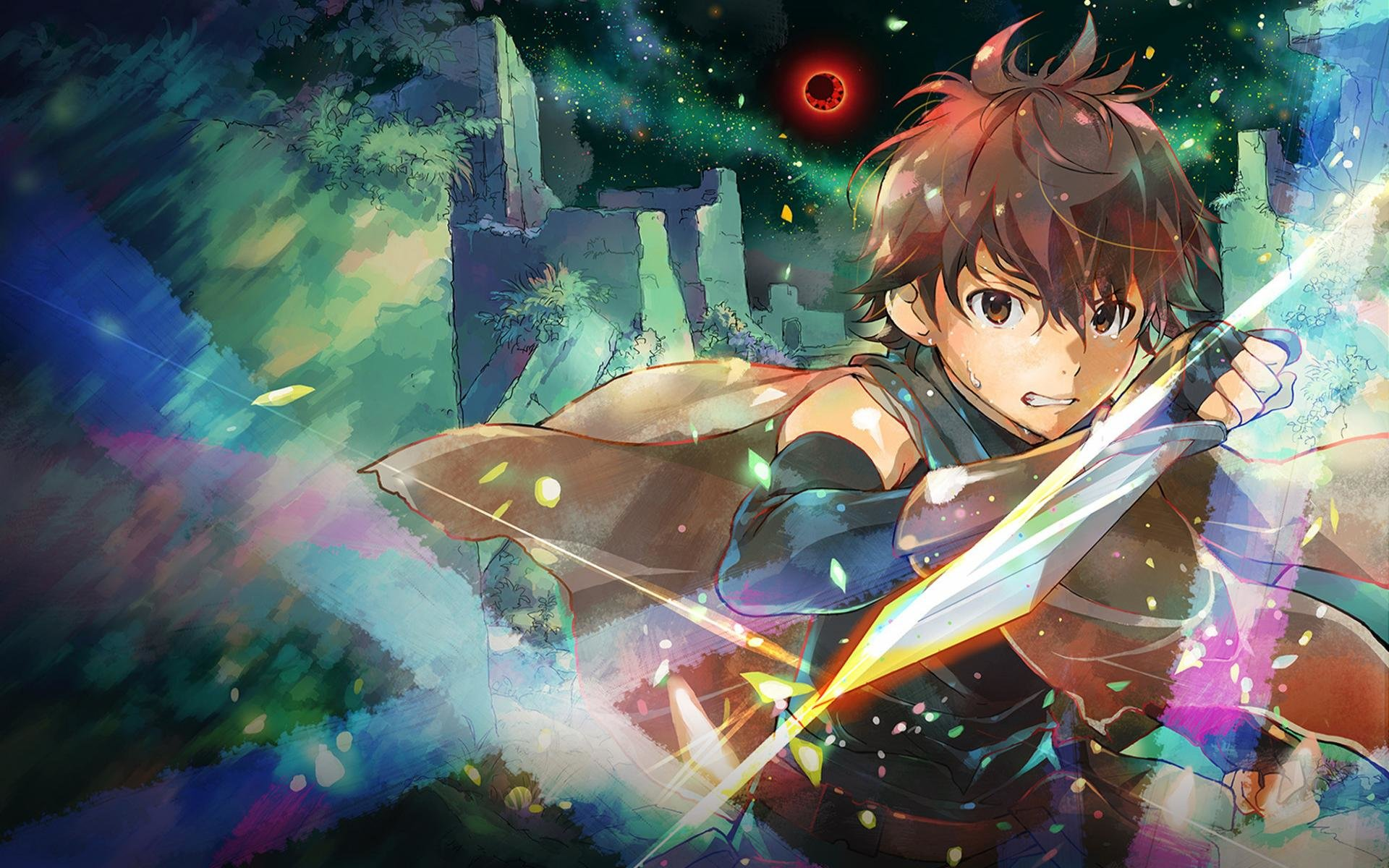 Download hd 1920x1200 Grimgar Of Fantasy And Ash computer background ID:39927 for free
