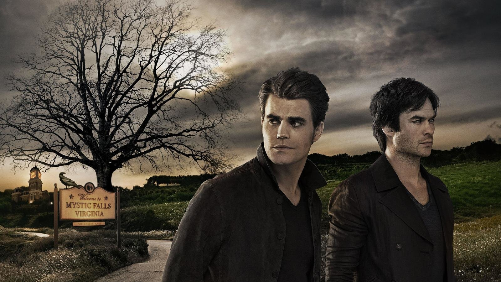 High resolution The Vampire Diaries hd 1600x900 wallpaper ID:464940 for computer
