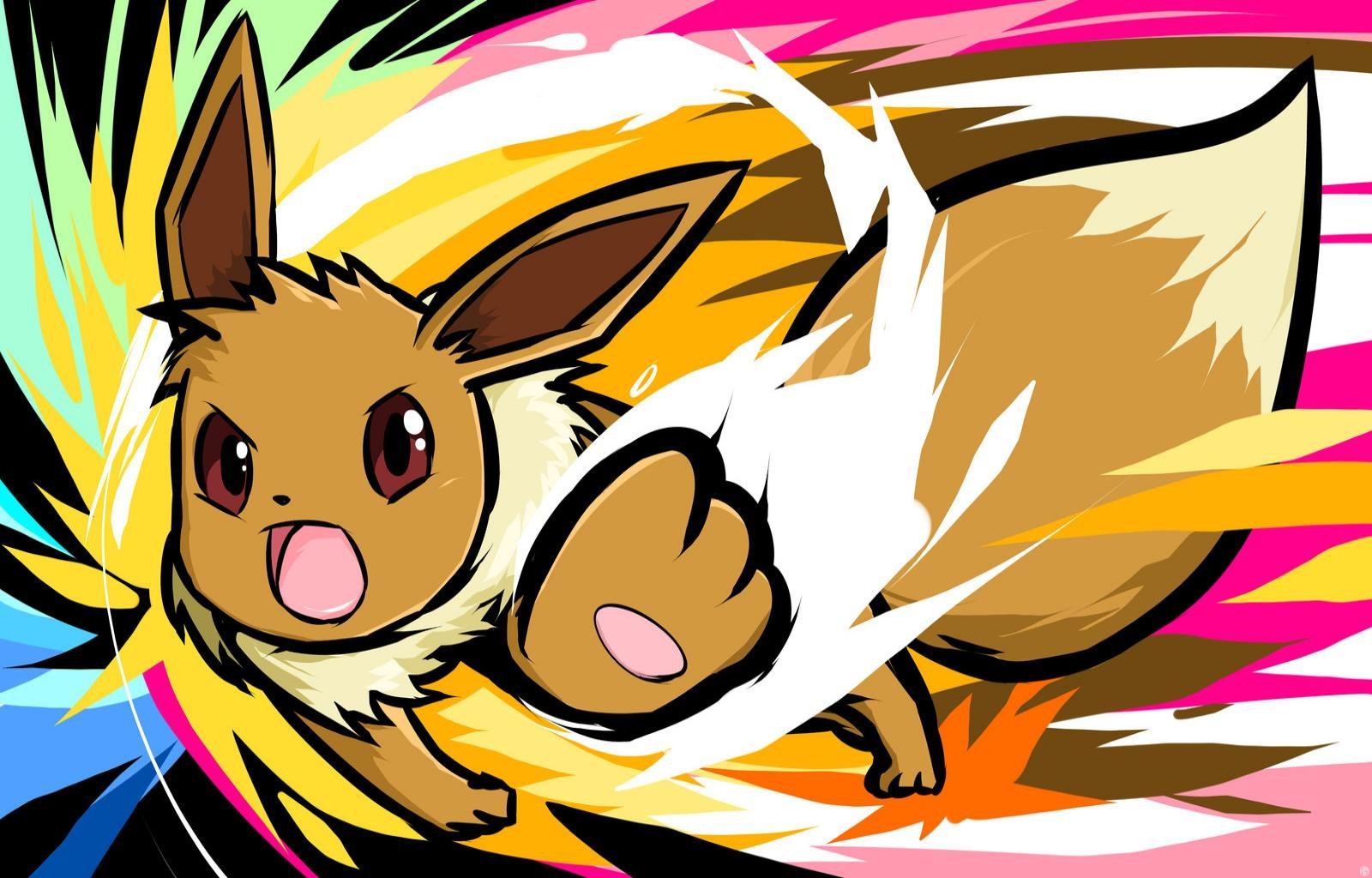 Free download Eevee (Pokemon) wallpaper ID:280287 hd 1600x1024 for PC