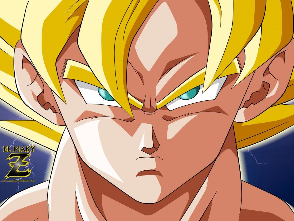 Awesome Goku free background ID:462169 for hd 1024x768 computer