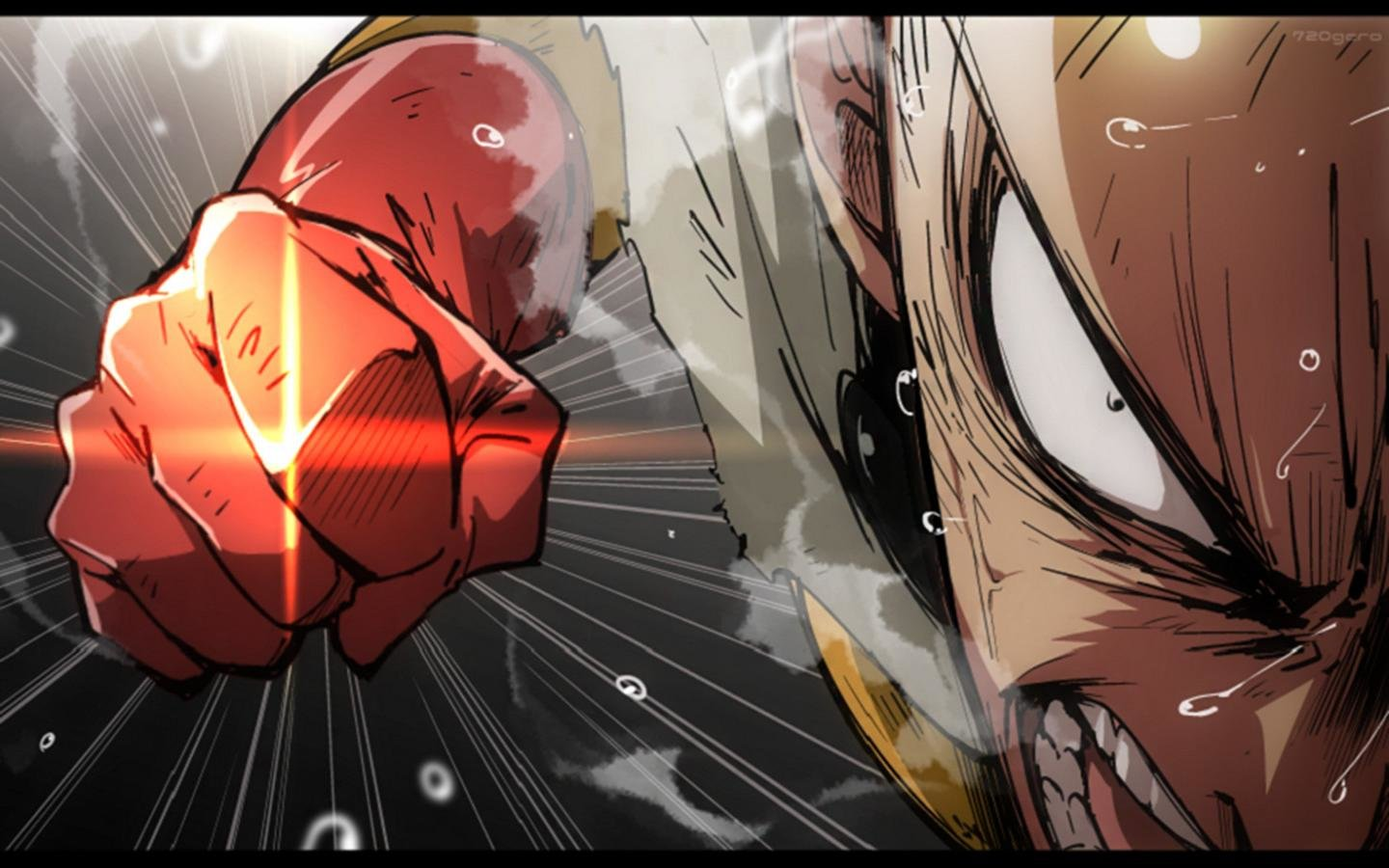 Awesome Saitama (One-Punch Man) free wallpaper ID:345235 for hd 1440x900 computer