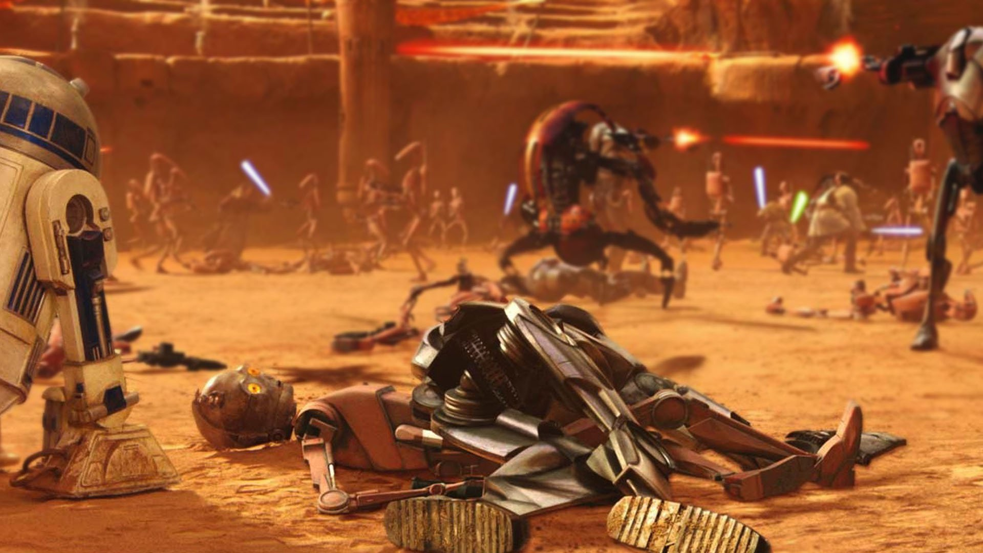 High Resolution Star Wars Episode 2 Ii Attack Of The Clones
