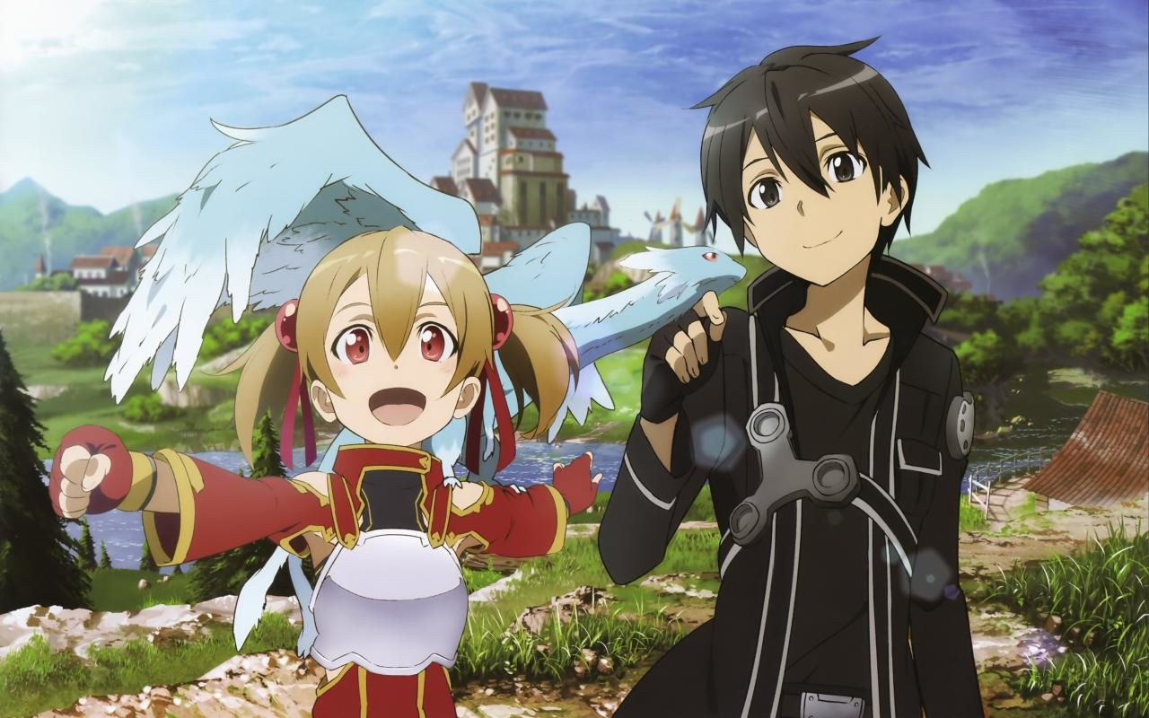 Download hd 1280x800 Sword Art Online (SAO) PC background ID:180873 for free