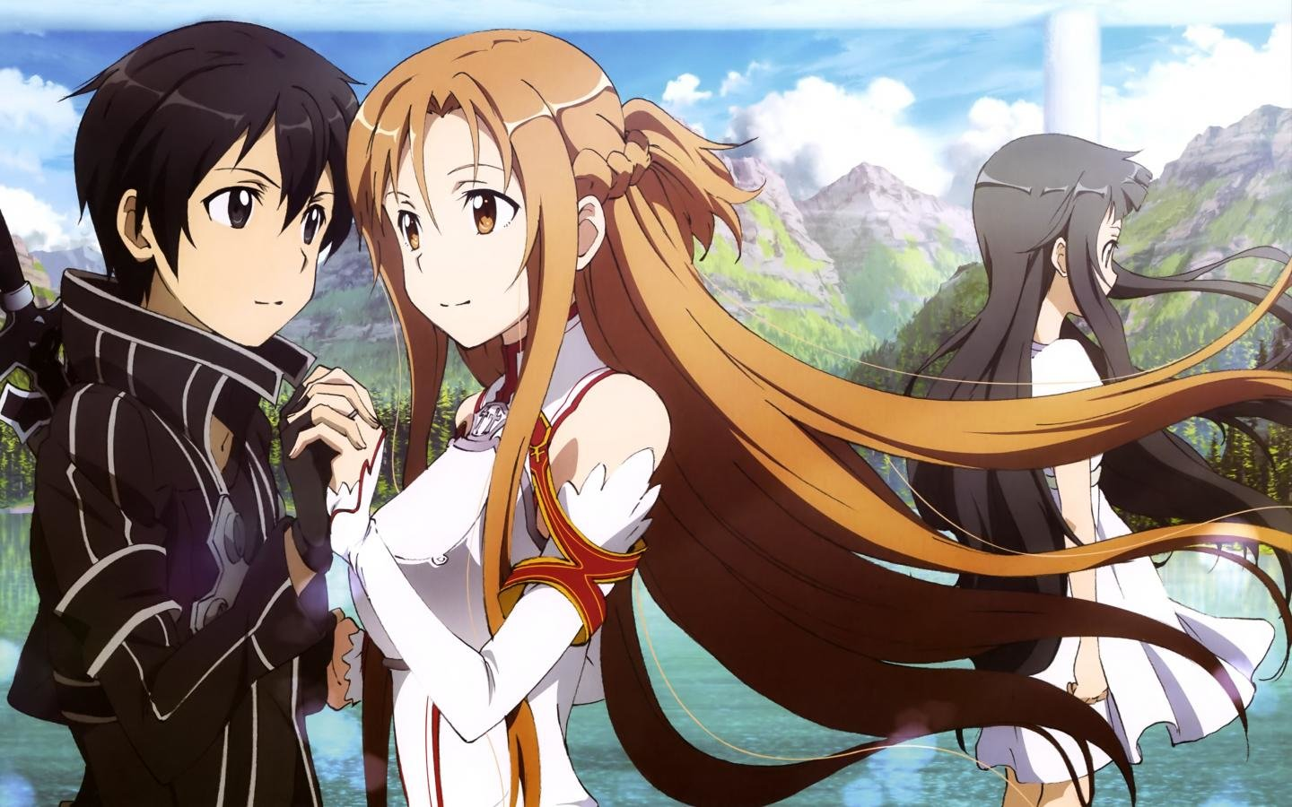 Free download Sword Art Online (SAO) background ID:181058 hd 1440x900 for PC