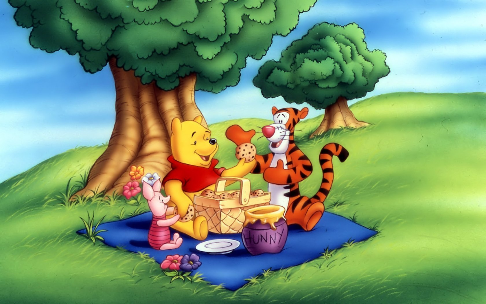Best Winnie The Pooh background ID:74405 for High Resolution hd 1680x1050 PC
