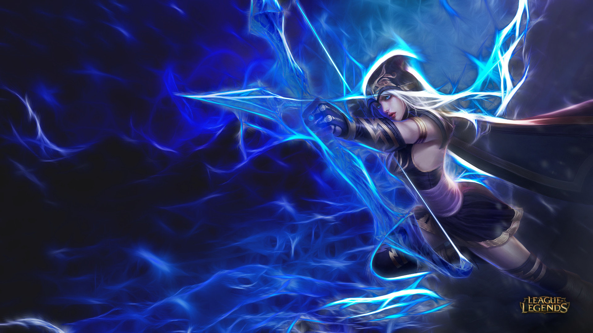 download hd 1080p ashe league of legends computer background id