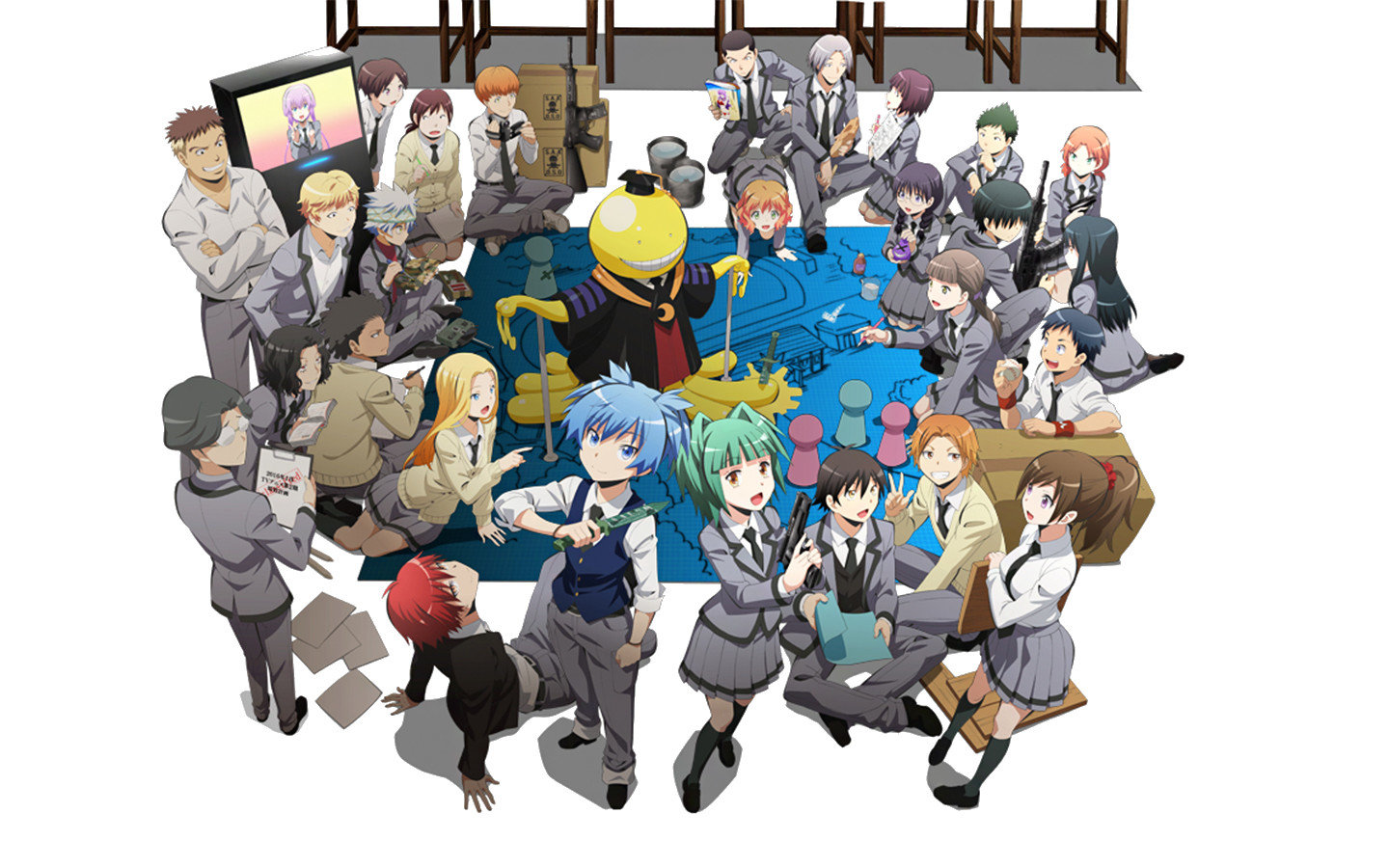 Free Assassination Classroom high quality background ID:275144 for hd 1440x900 PC