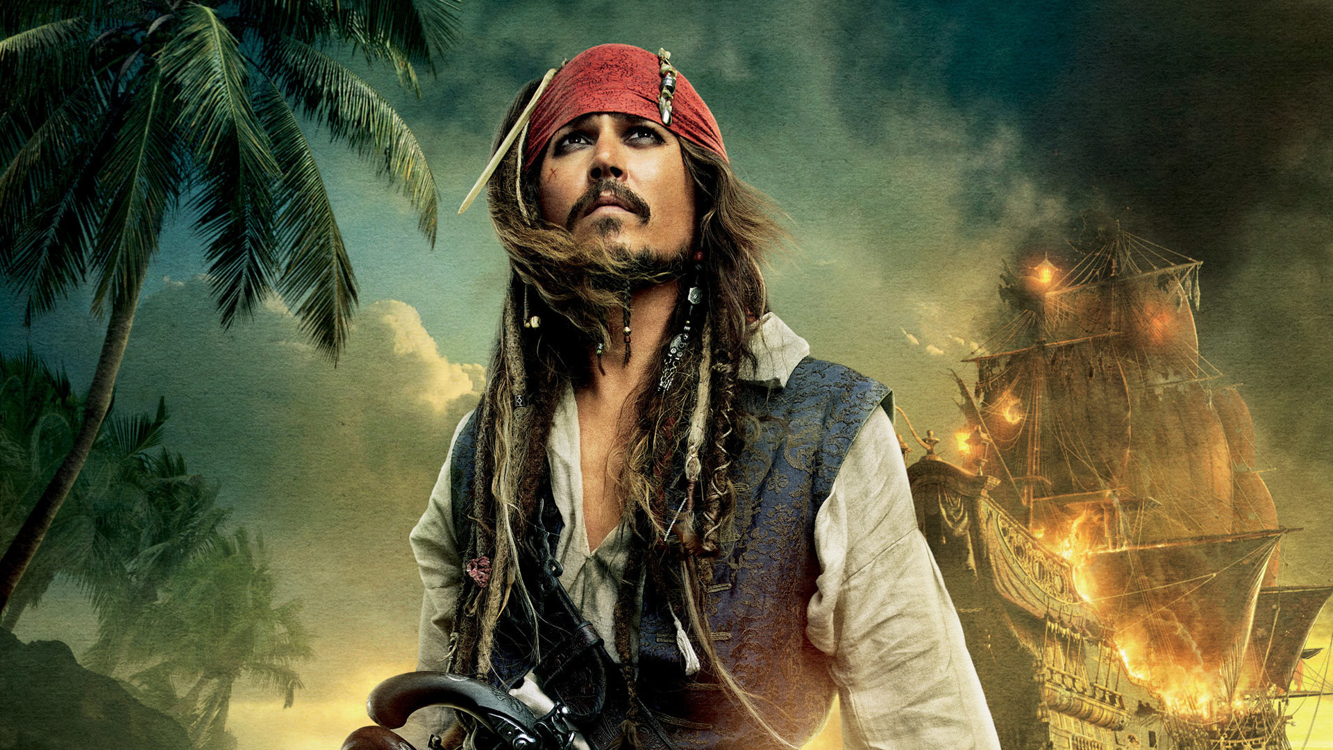 Captain Jack Sparrow Wallpapers 1920x1080 Full HD (1080p