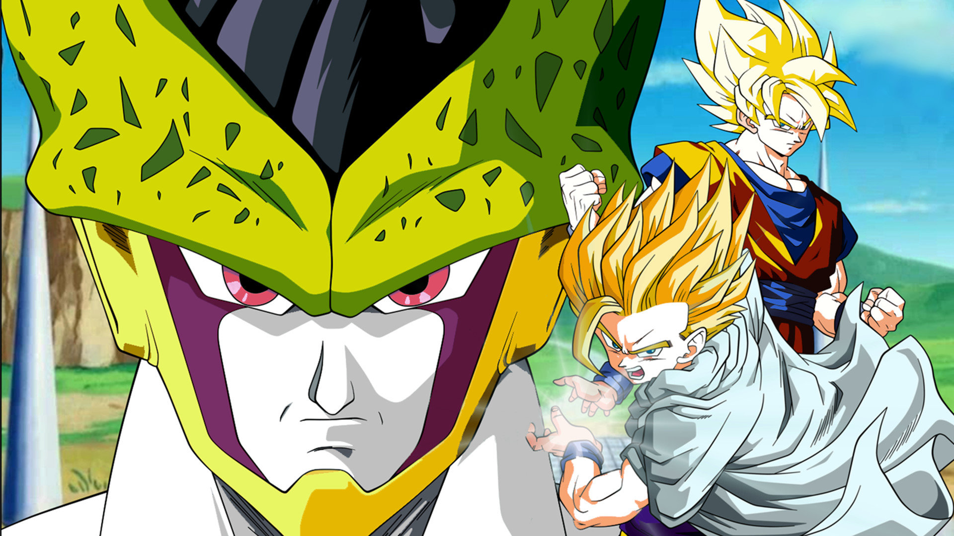 Free Dragon Ball Z (DBZ) high quality background ID:462140 for full hd 1080p PC