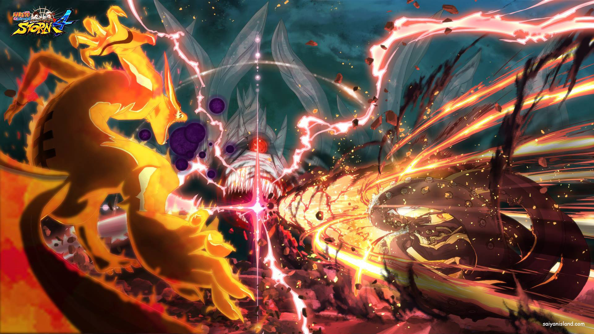 High resolution Naruto Shippuden: Ultimate Ninja Storm 4 full hd background ID:408885 for computer