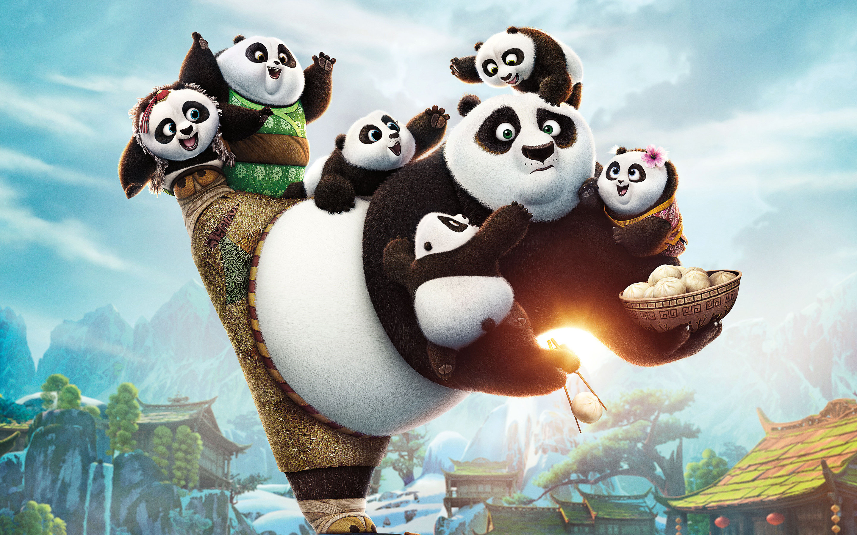 Best Kung Fu Panda 3 wallpaper ID:209021 for High Resolution hd 2880x1800 computer