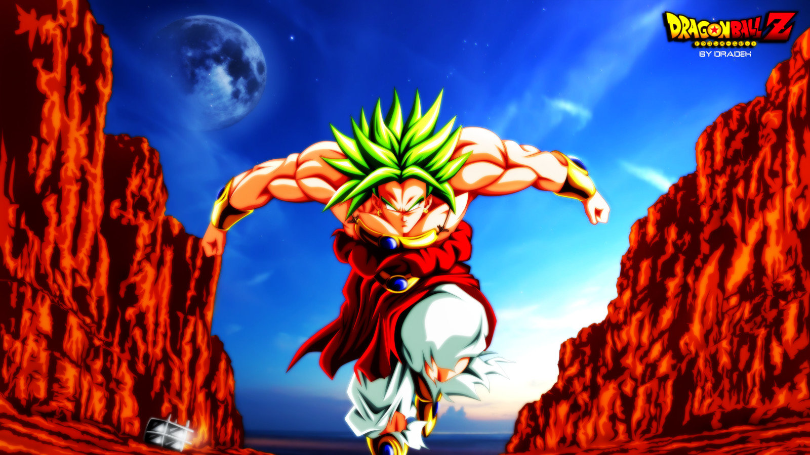 Broly Dragon Ball Wallpapers Hd For Desktop Backgrounds