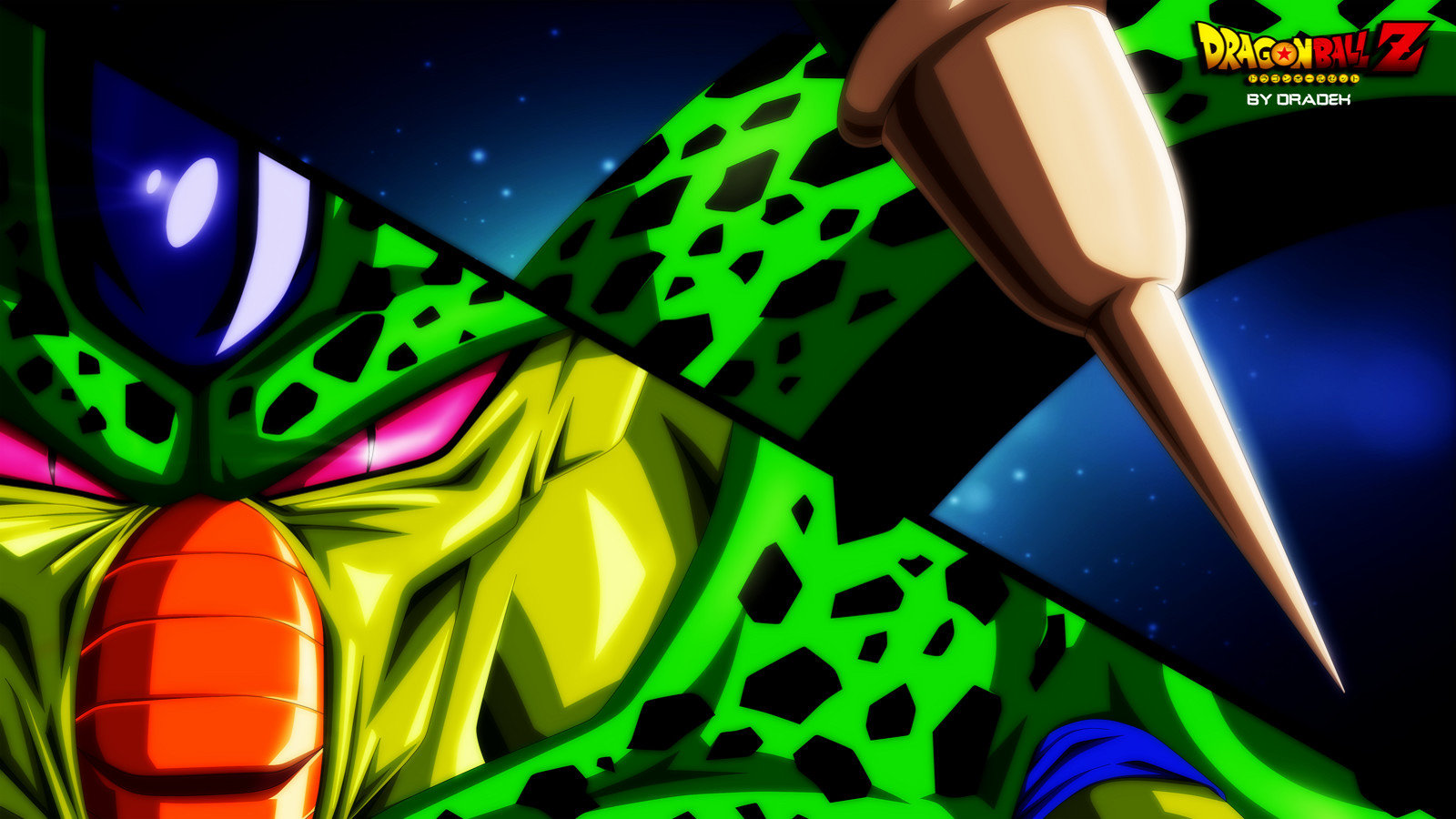 Free download Cell (Dragon Ball) background ID:461921 hd 1600x900 for PC