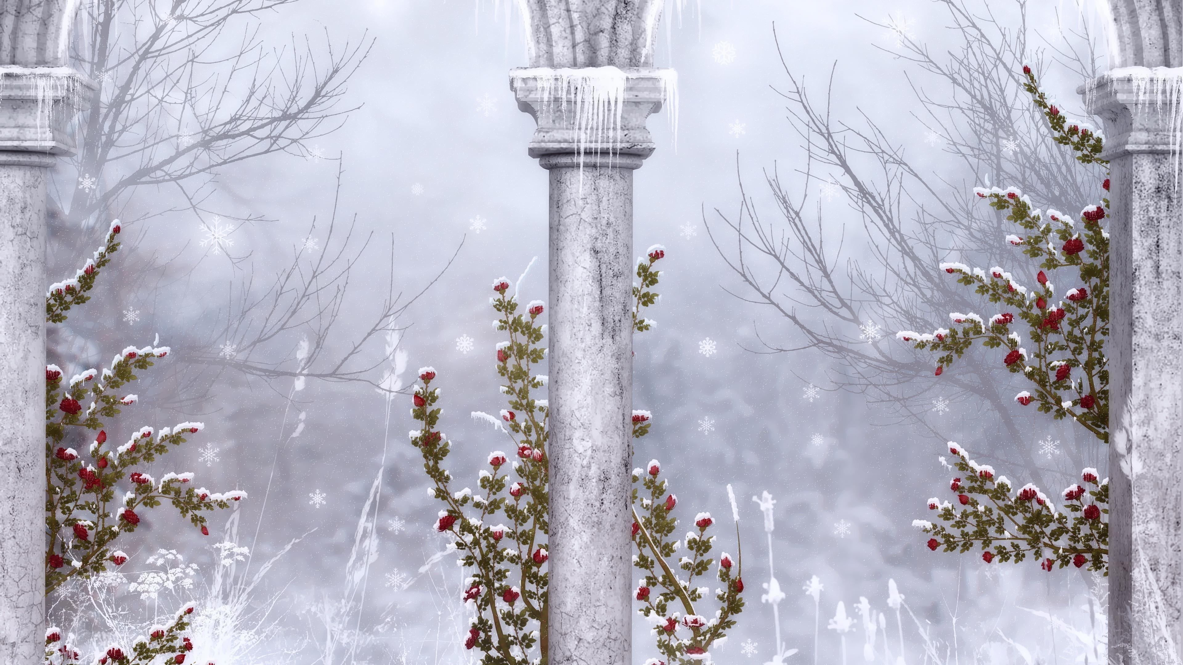 Winter Wallpapers 3840x2160 Ultra Hd 4k Desktop Backgrounds