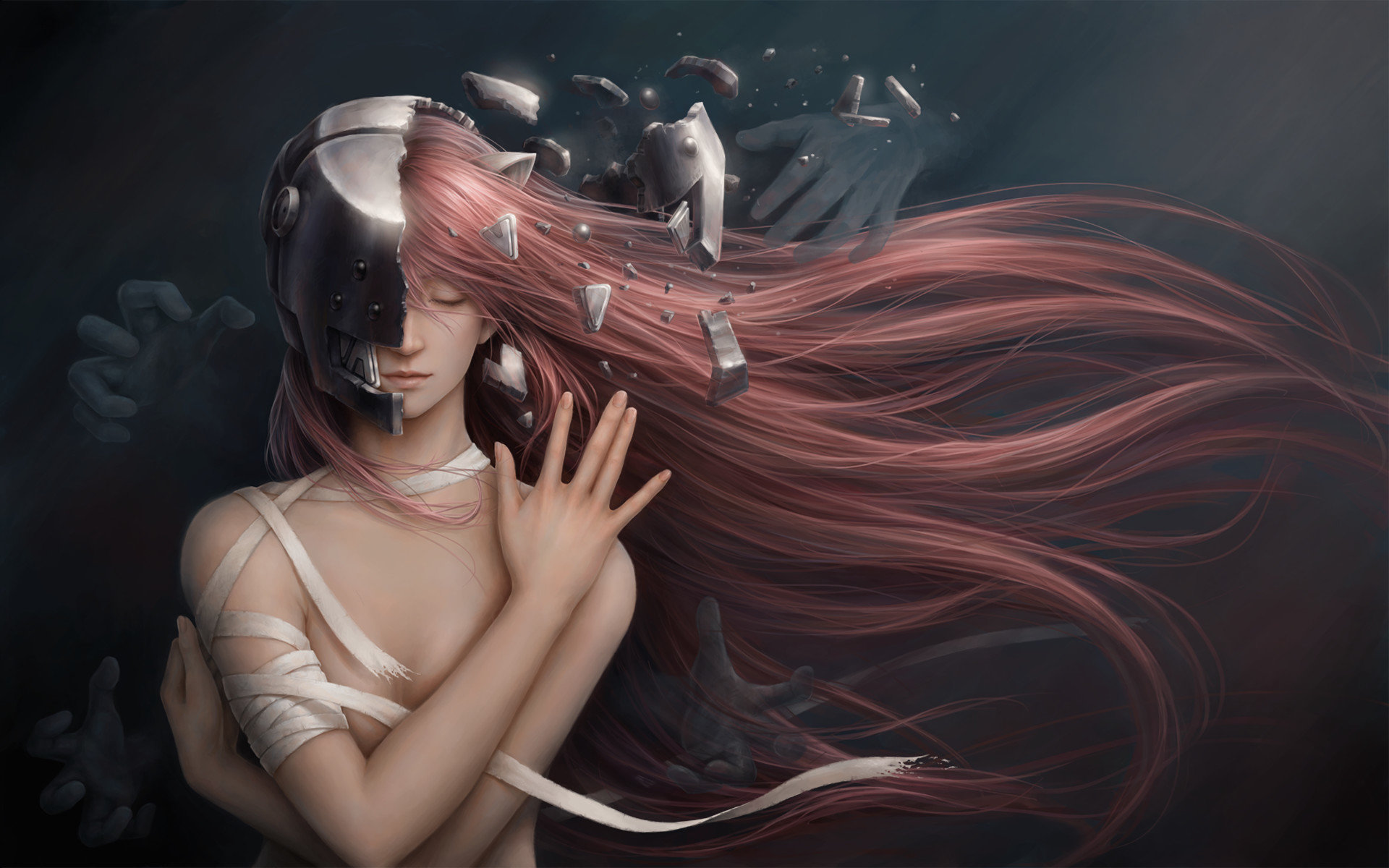 Best Elfen Lied background ID:384198 for High Resolution hd 1920x1200 PC