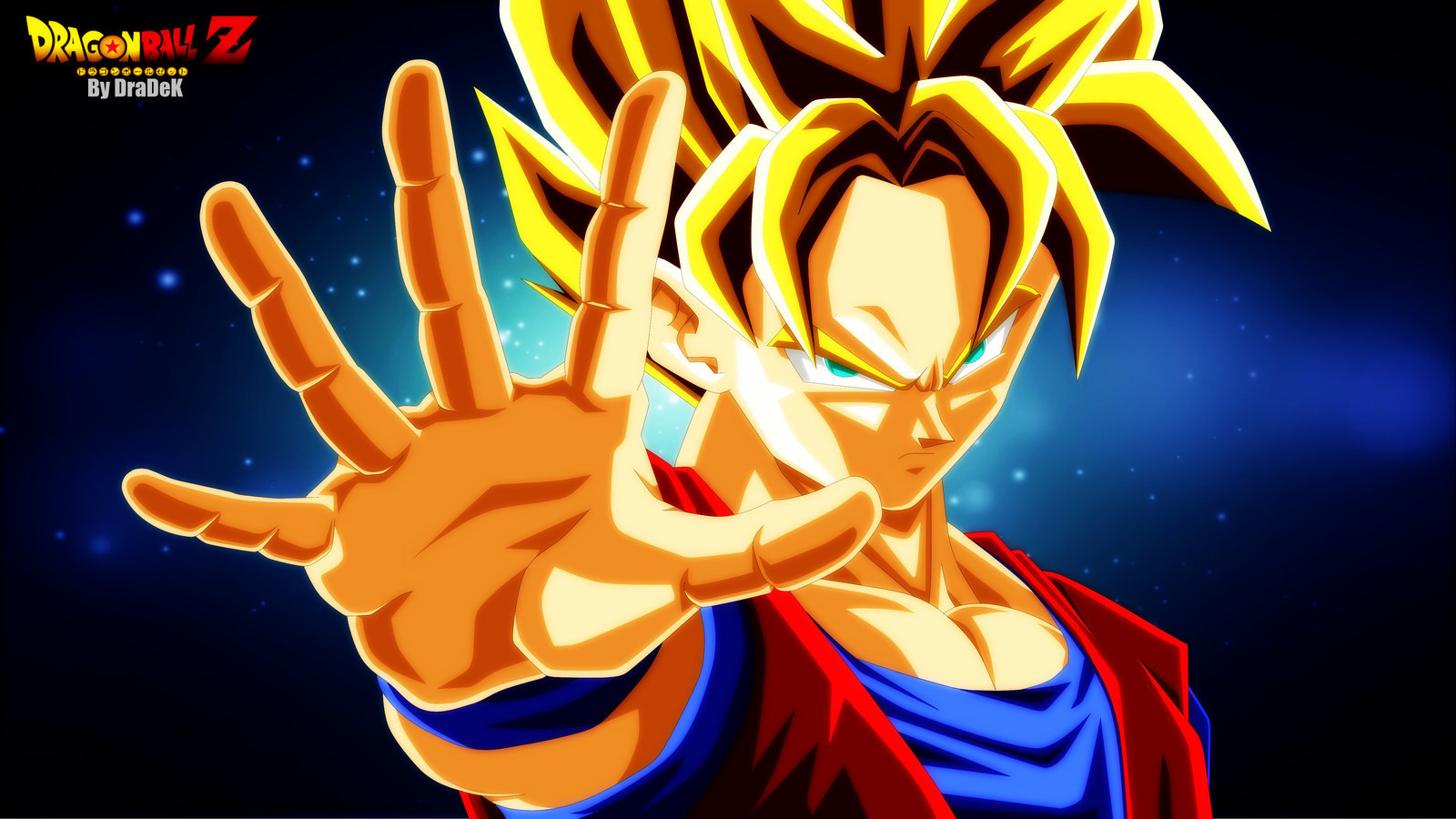 Awesome Goku free background ID:462190 for hd 1600x900 PC