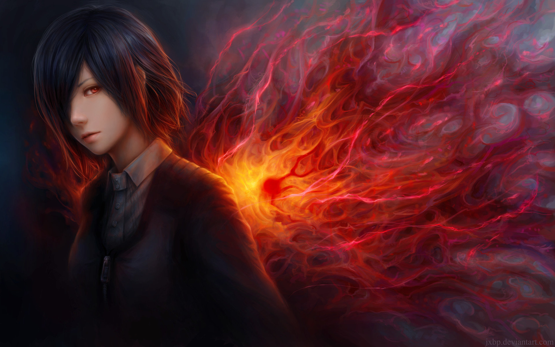 Awesome Touka Kirishima free wallpaper ID:150231 for hd 1920x1200 PC